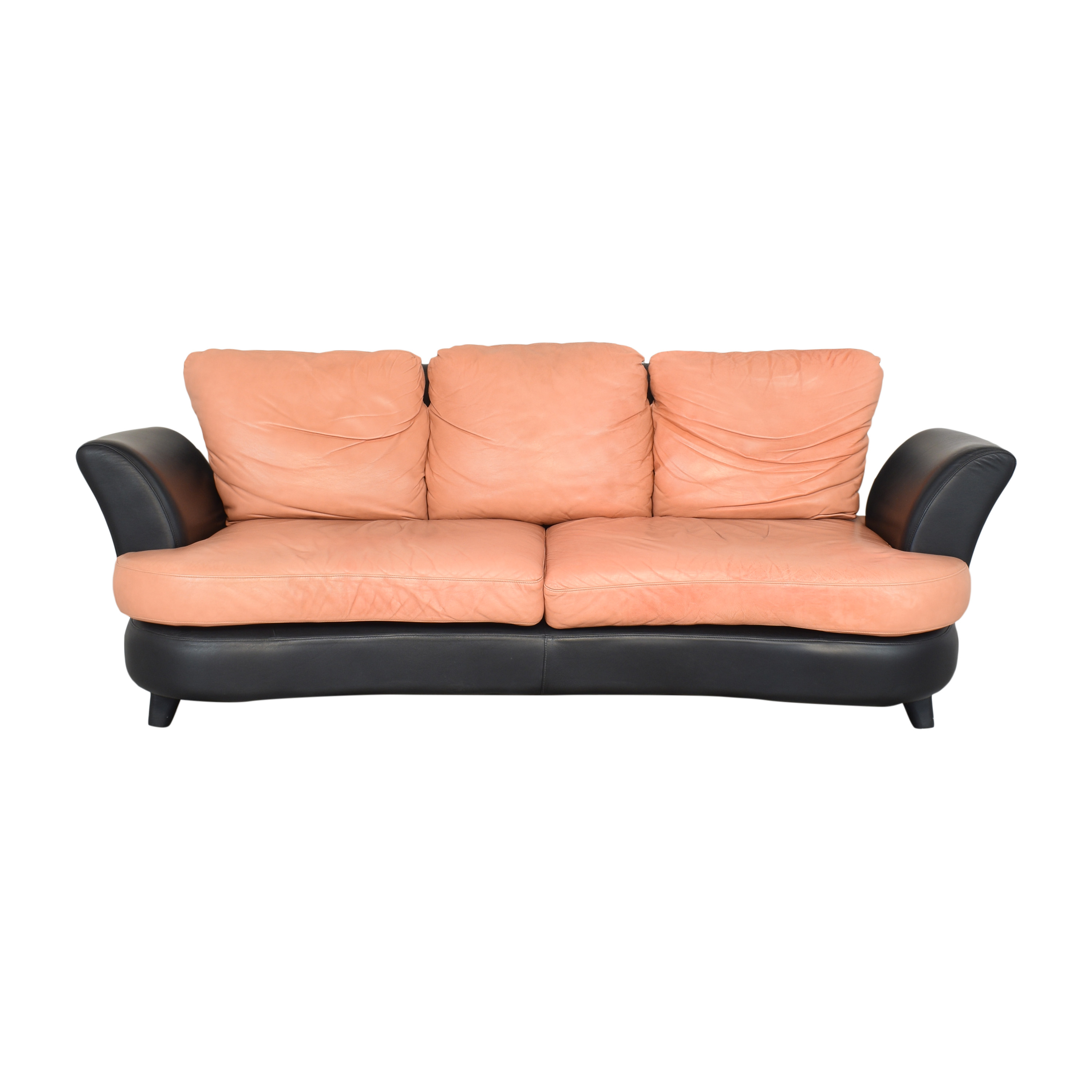 Two Tone Curved Sofa