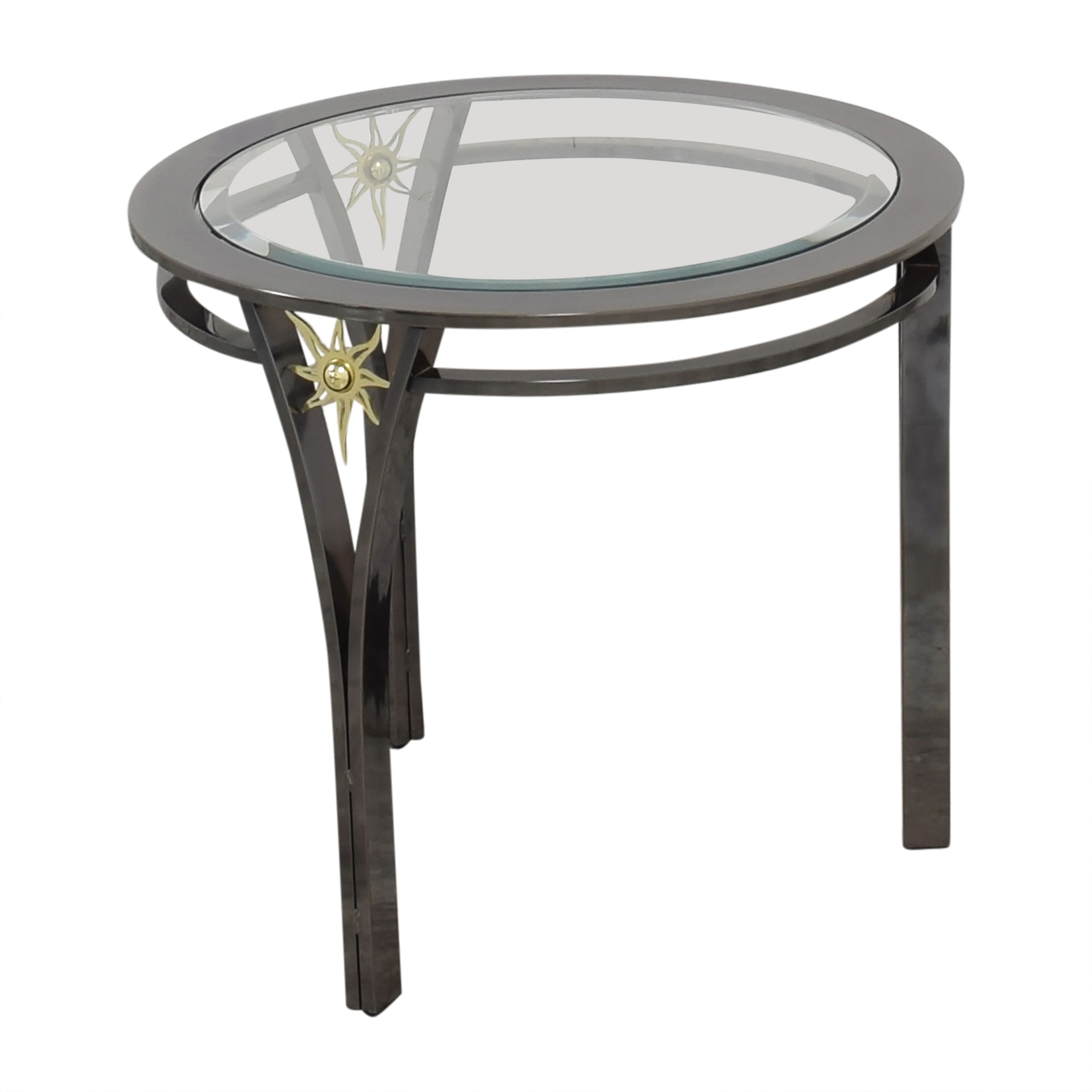 Round Top End Table pa