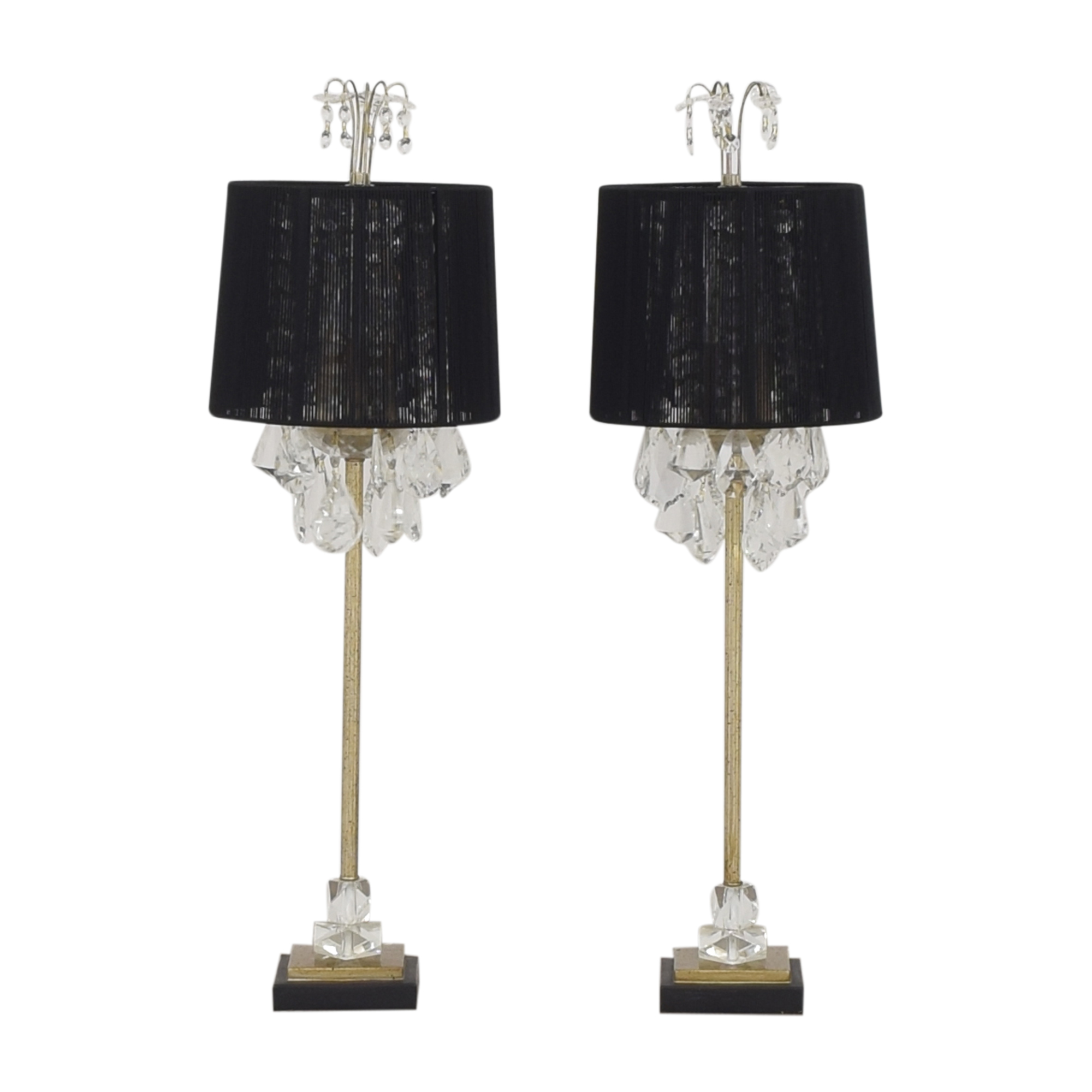 Horchow Horchow Christella Buffet Lamps for sale