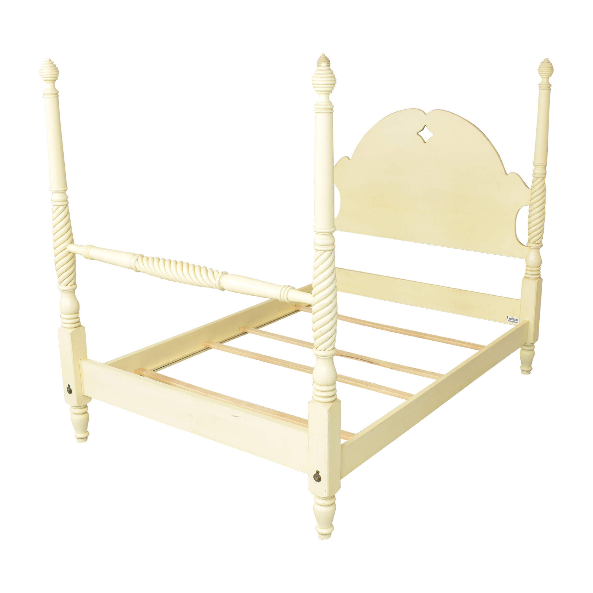 buy Ethan Allen Country Crossings Four Poster Full Bed Ethan Allen Beds