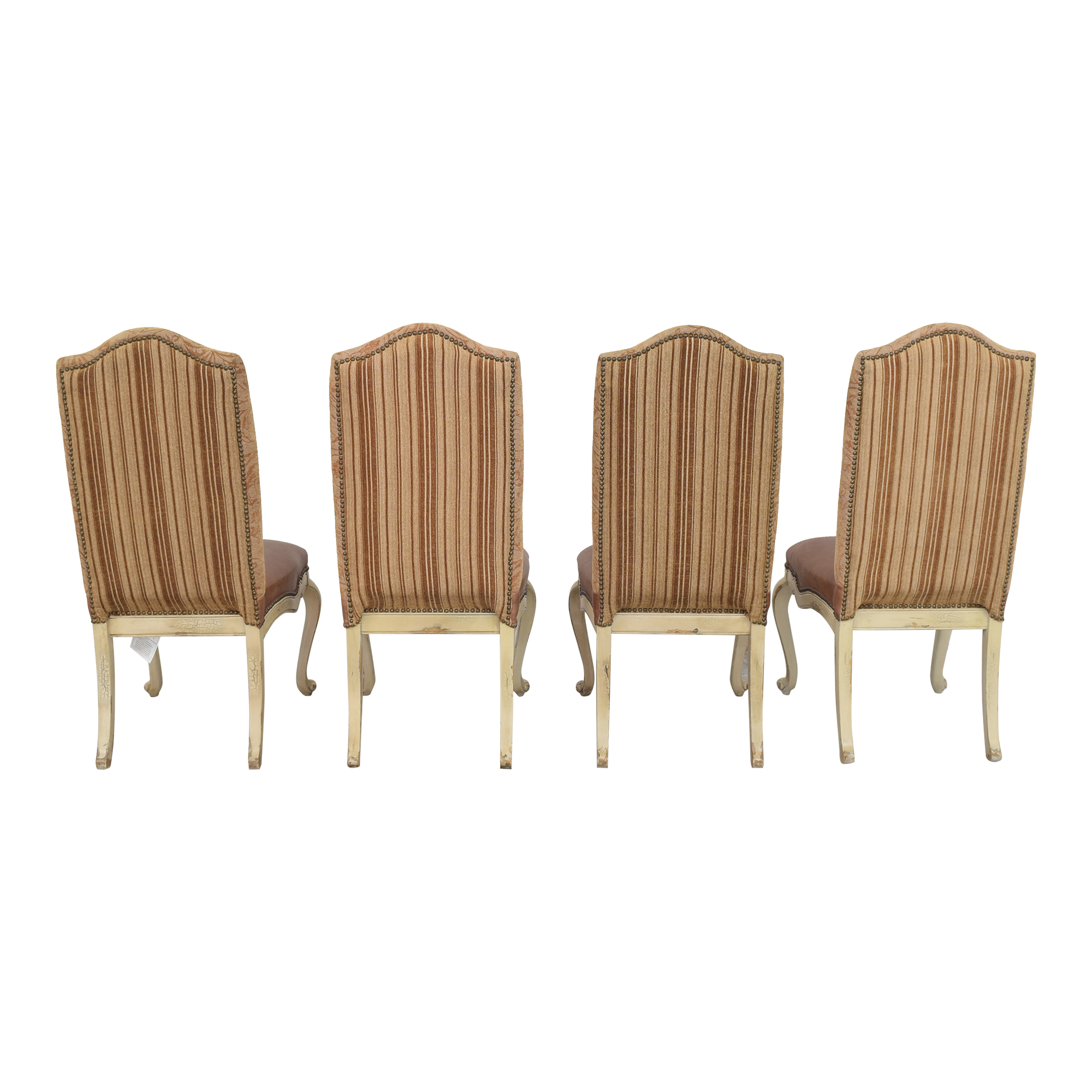 Hooker Furniture Hooker Upholstered Side Chairs brown & off white