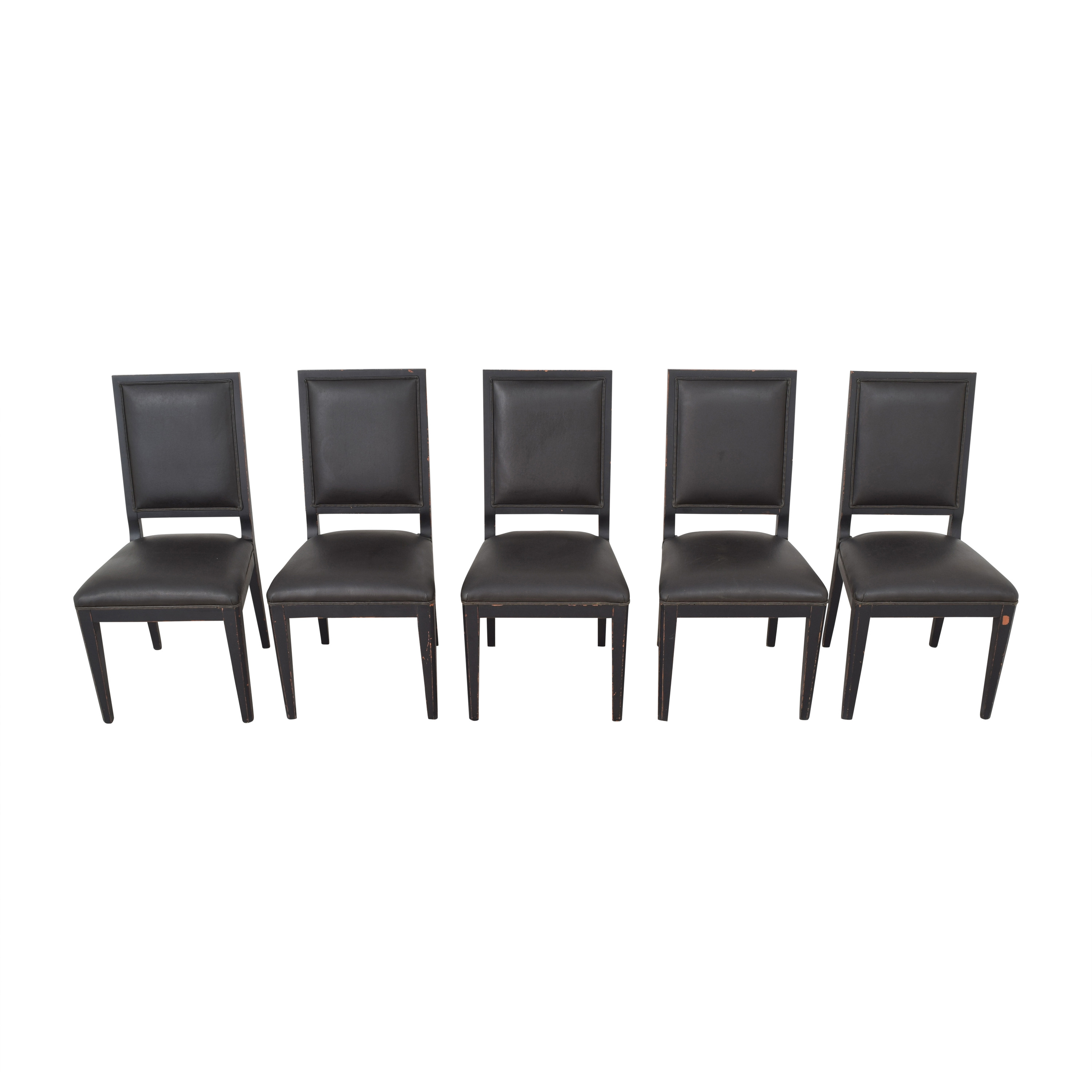 buy Crate & Barrel High Back Dining Chairs Crate & Barrel Chairs