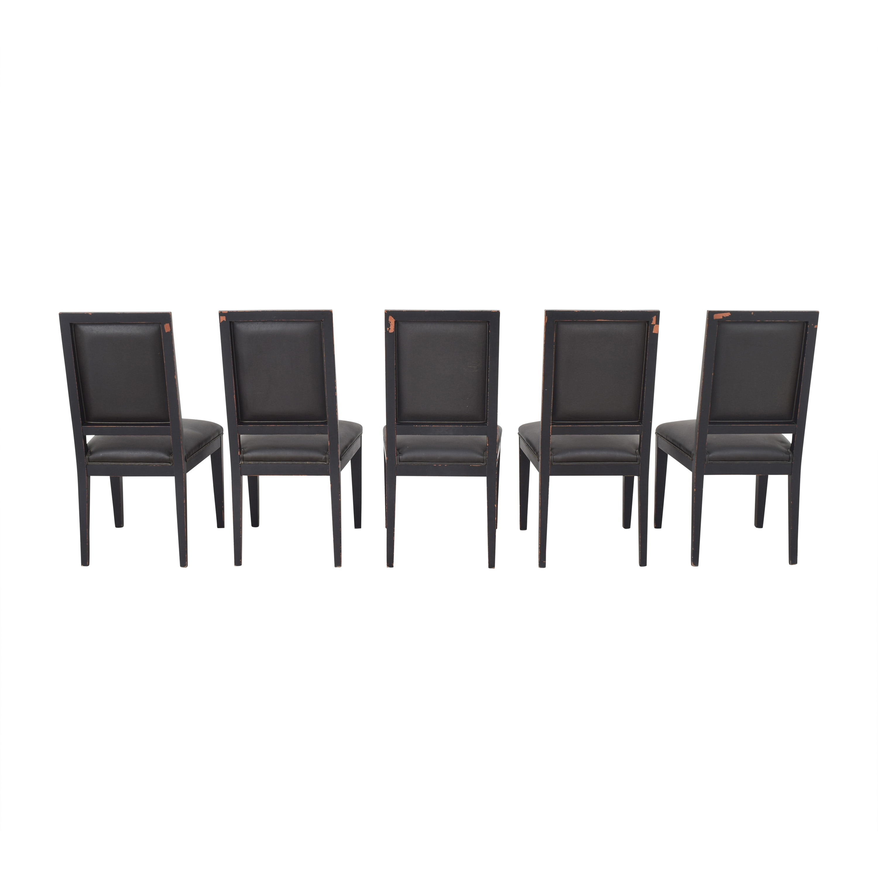 Crate & Barrel Crate & Barrel High Back Dining Chairs for sale