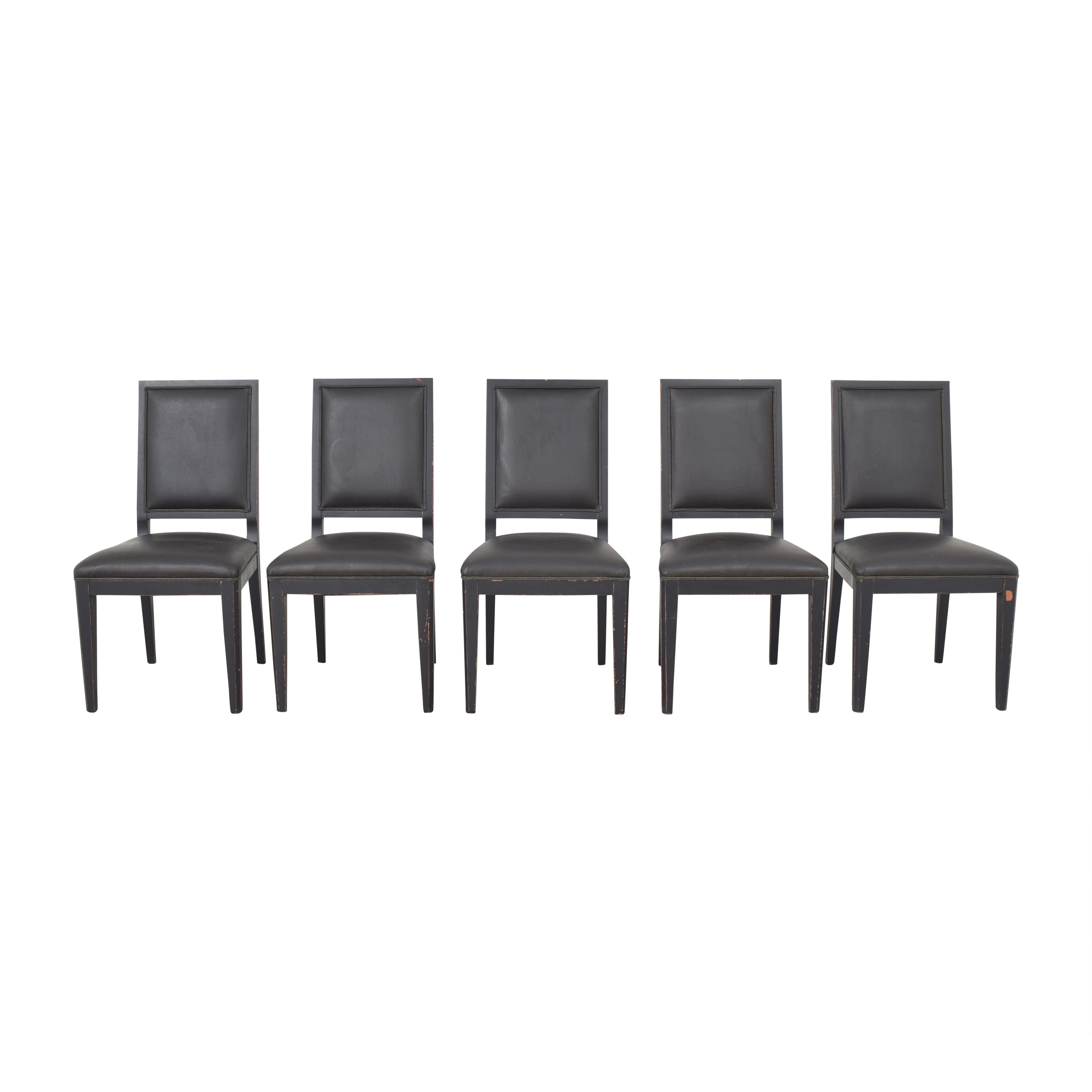 Crate & Barrel High Back Dining Chairs / Dining Chairs