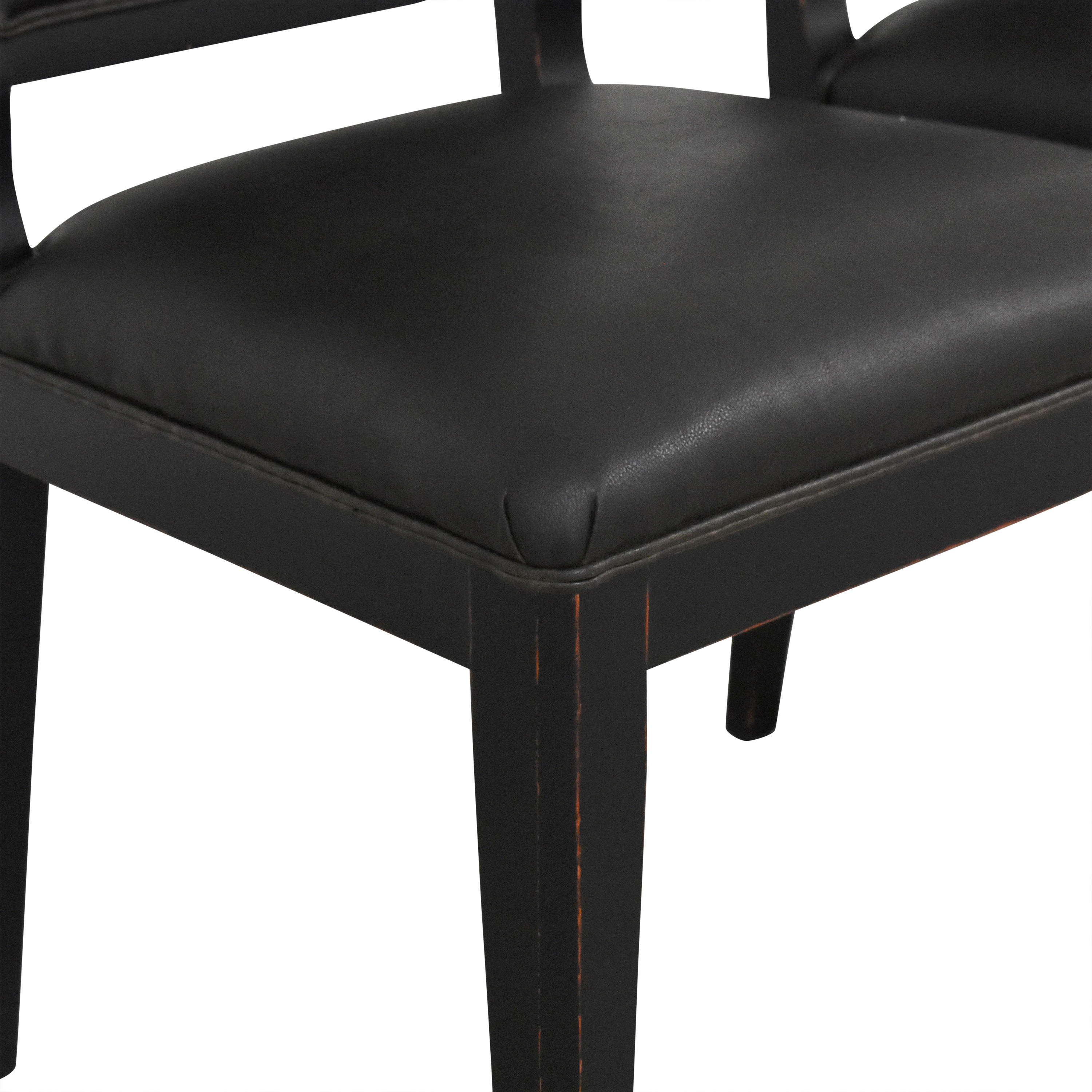 Crate & Barrel Crate & Barrel High Back Dining Chairs coupon