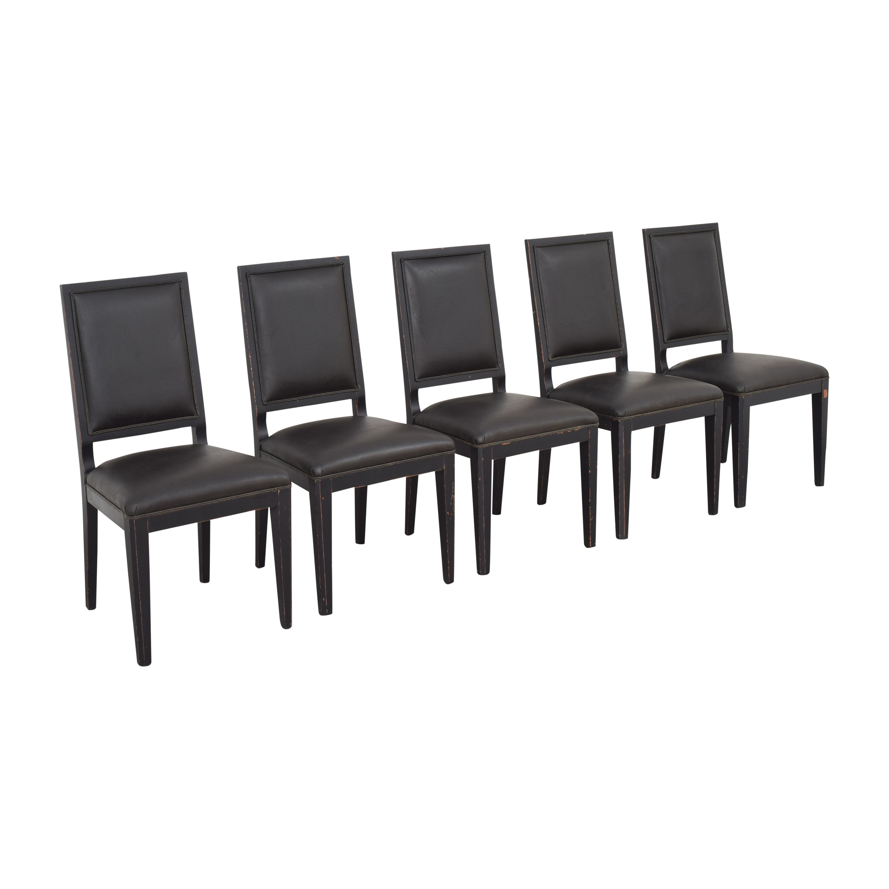 shop Crate & Barrel High Back Dining Chairs Crate & Barrel Dining Chairs