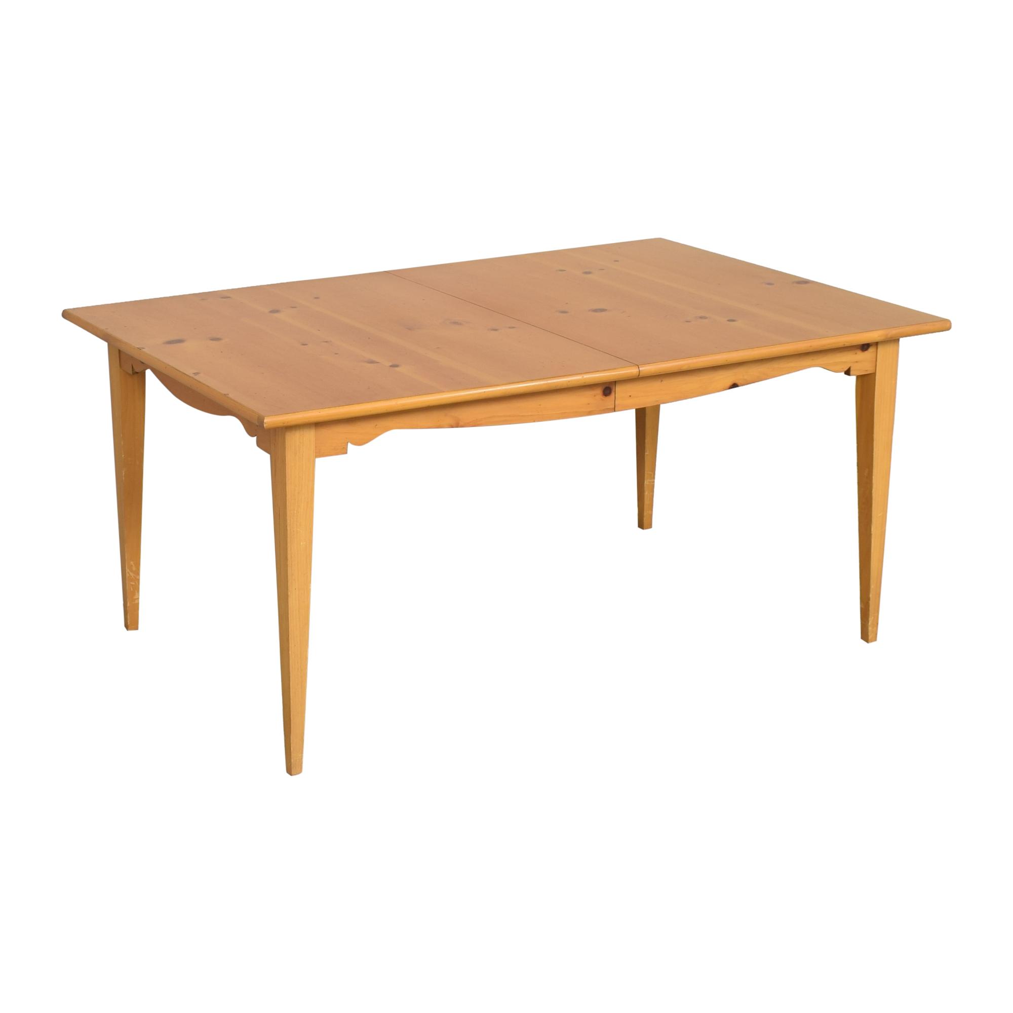 Lane Furniture Lane Extendable Rectangular Dining Table Dinner Tables