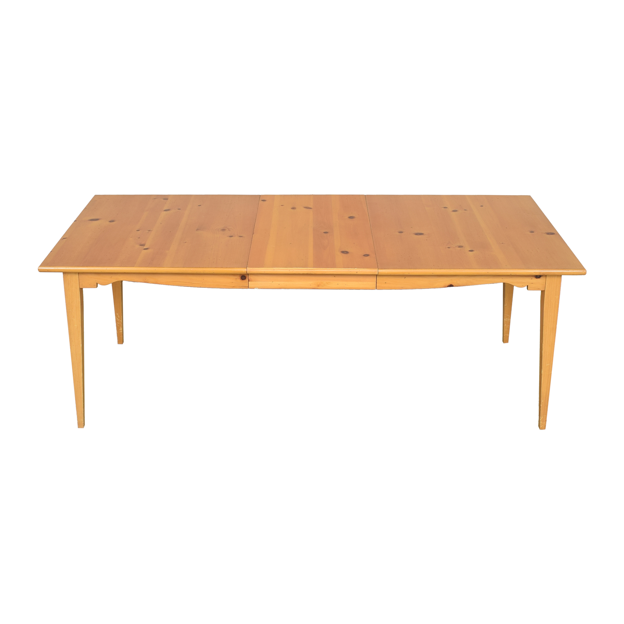 Lane Furniture Lane Extendable Rectangular Dining Table second hand