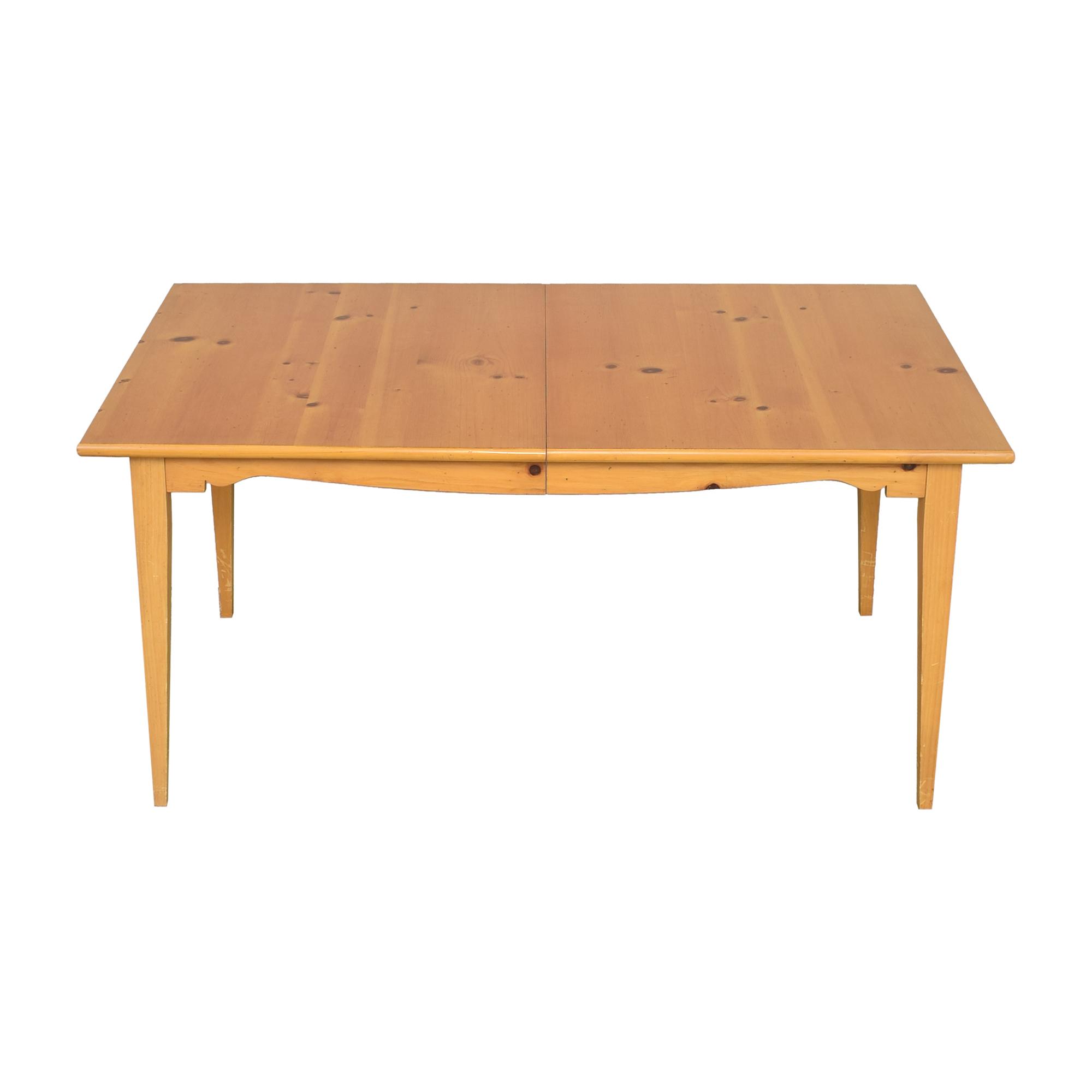 Lane Furniture Lane Extendable Rectangular Dining Table ma