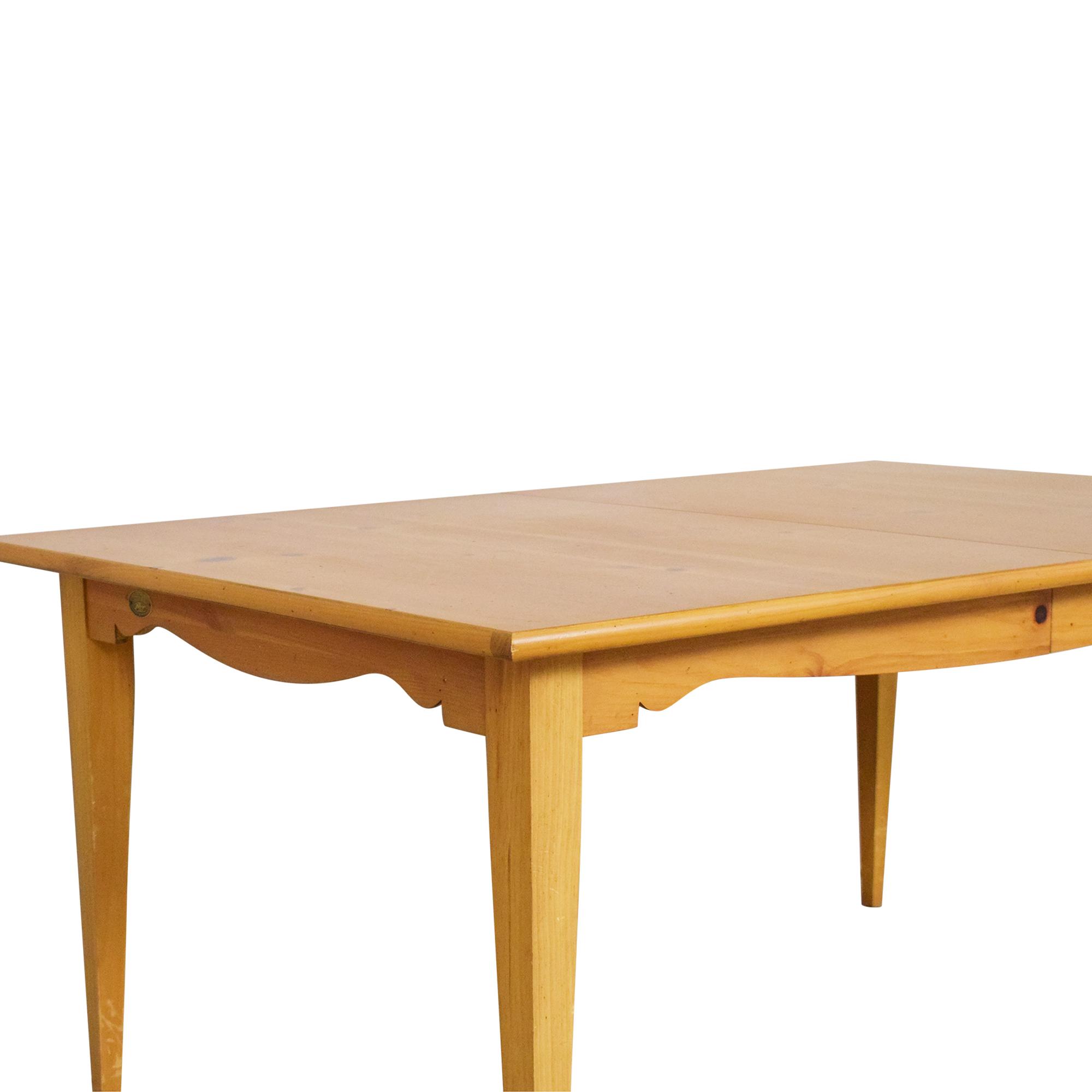 Lane Furniture Lane Extendable Rectangular Dining Table ct