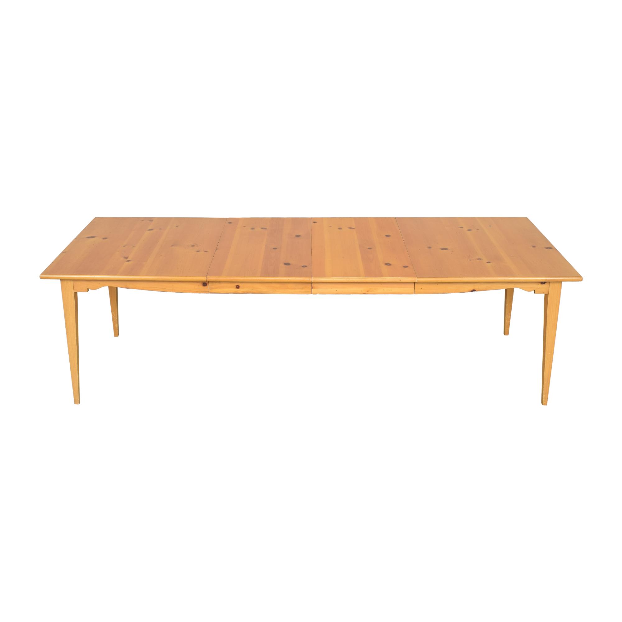 shop Lane Extendable Rectangular Dining Table Lane Furniture