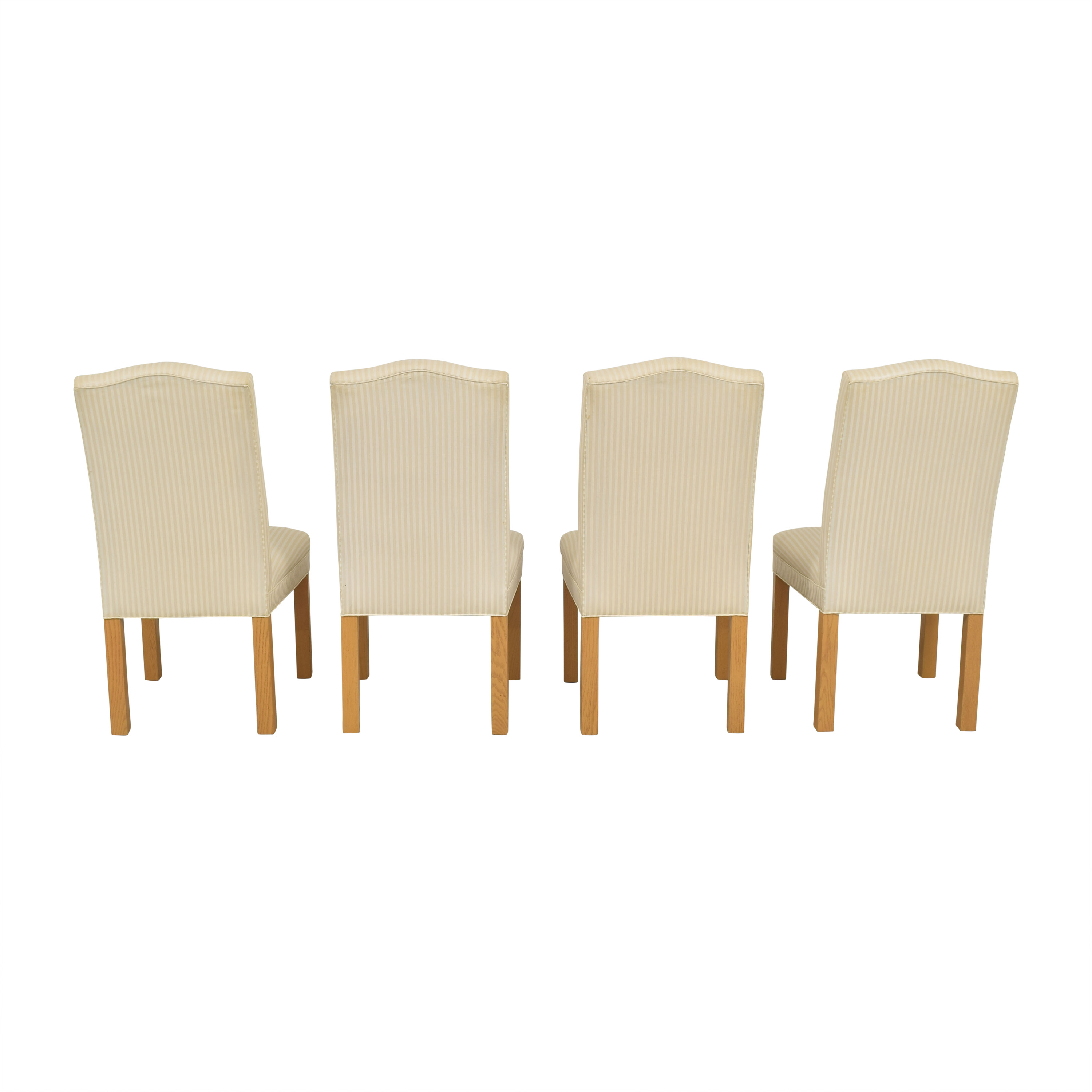 Lane Furniture Lane Furniture Upholstered Dining Side Chairs cream and light brown