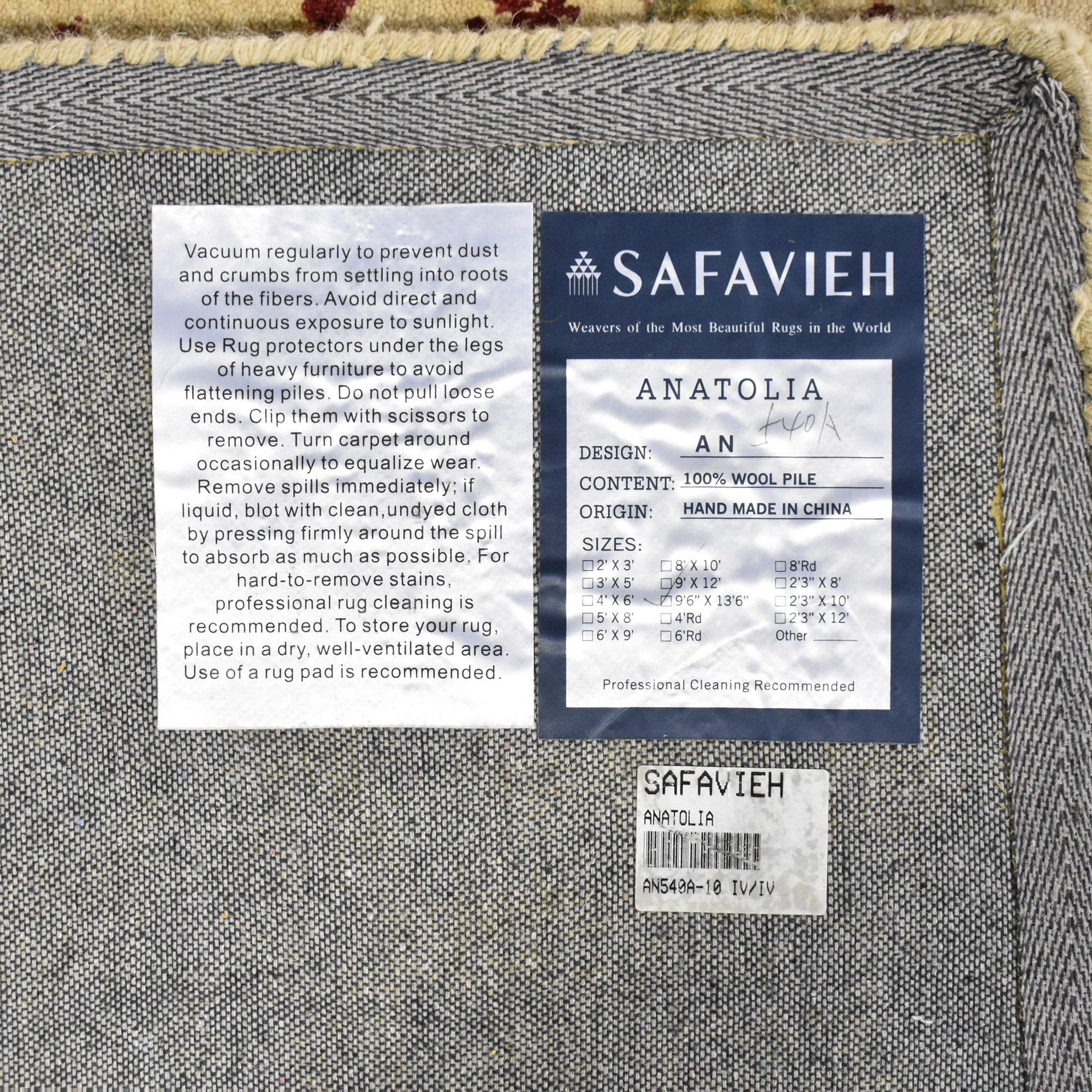 Safavieh Safavieh Anatolia Area Rug multi