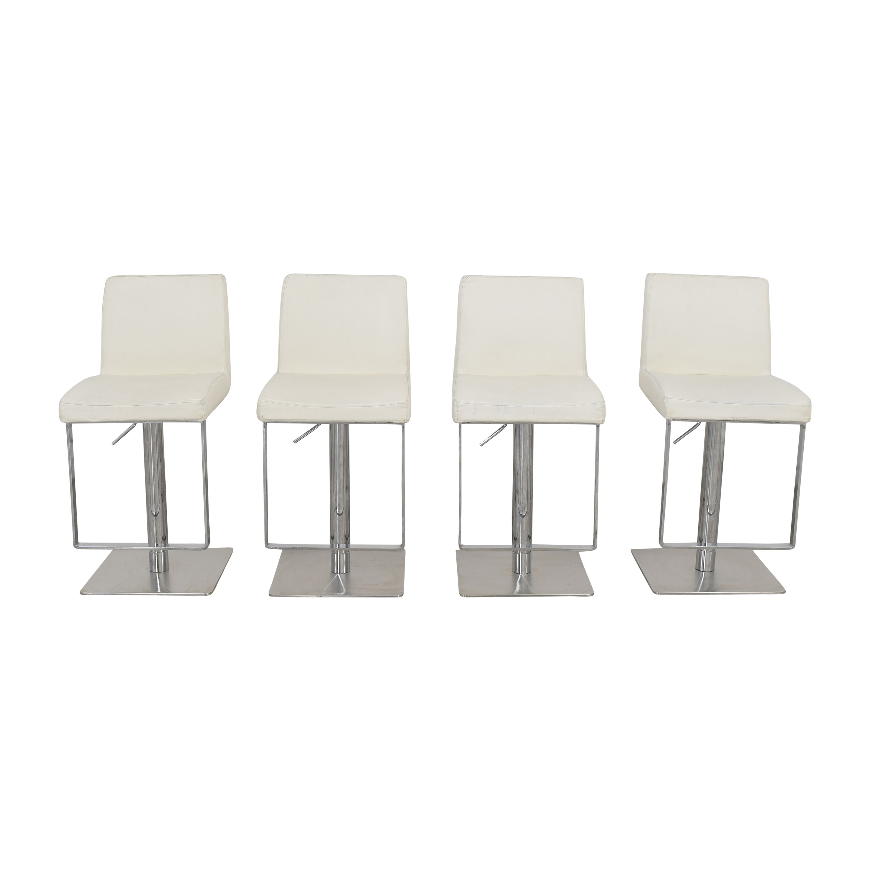 Chintaly Imports Chintaly Imports Adjustable Swivel Bar Stools second hand