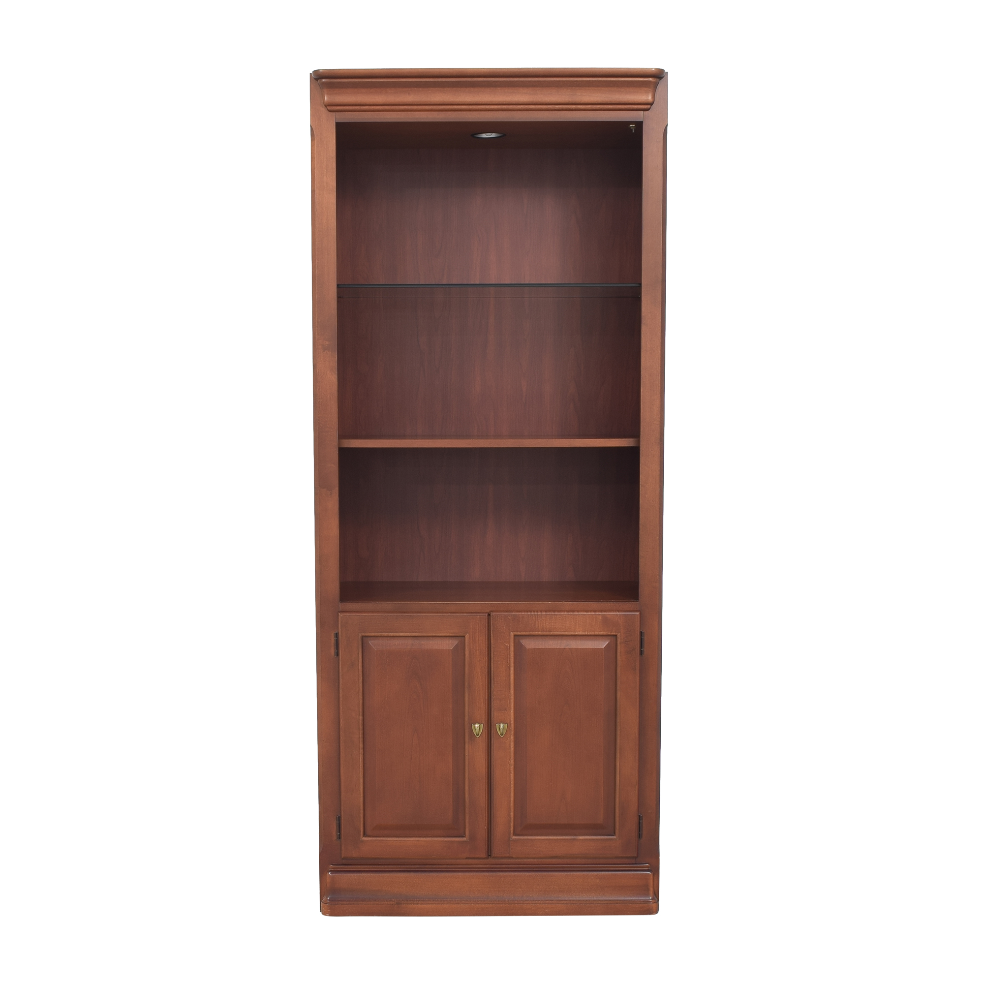 buy Thomasville Impressions Martinique Lighted Bookcase Cabinet Thomasville