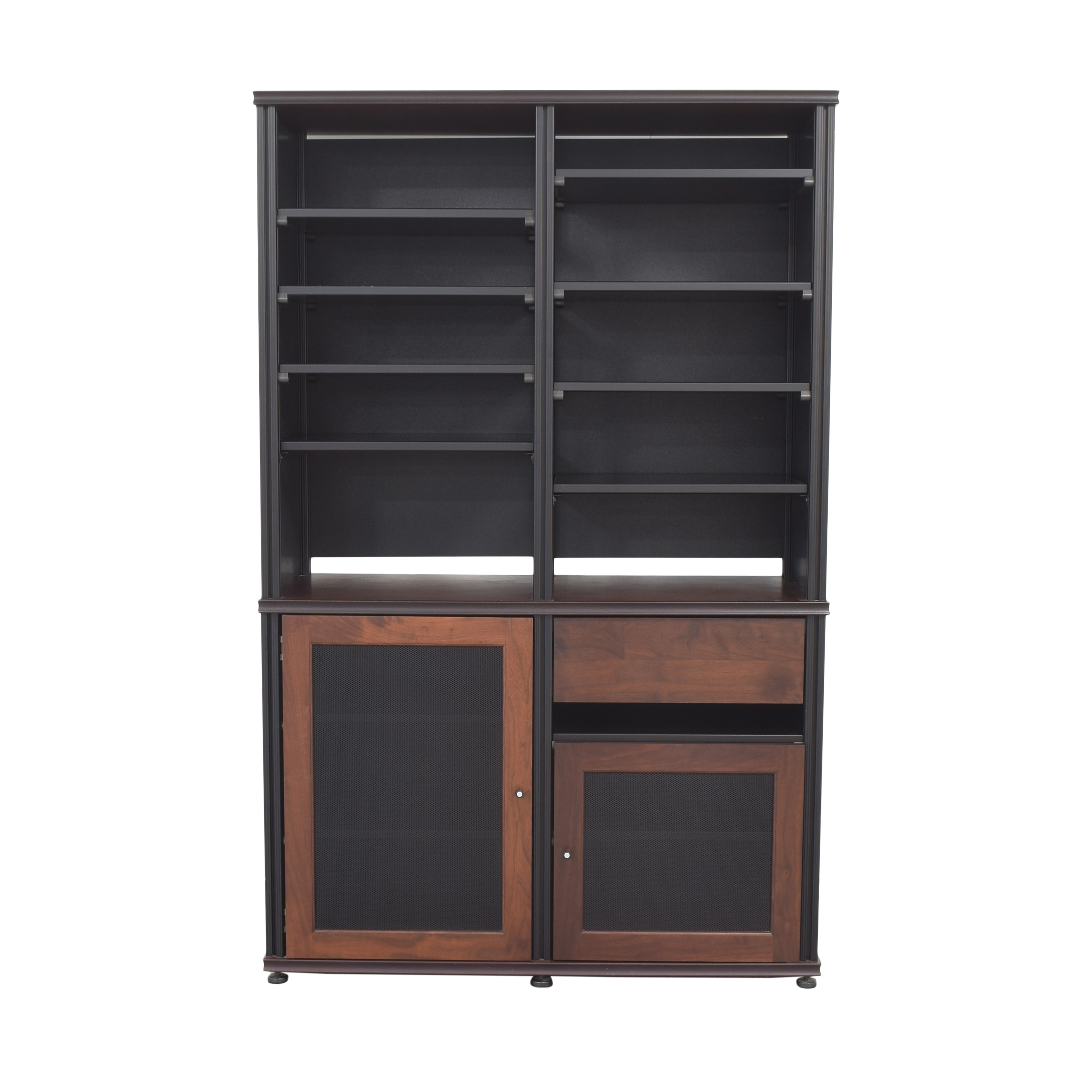 Salamander Designs Synergy Bookcase and Cabinet / Storage