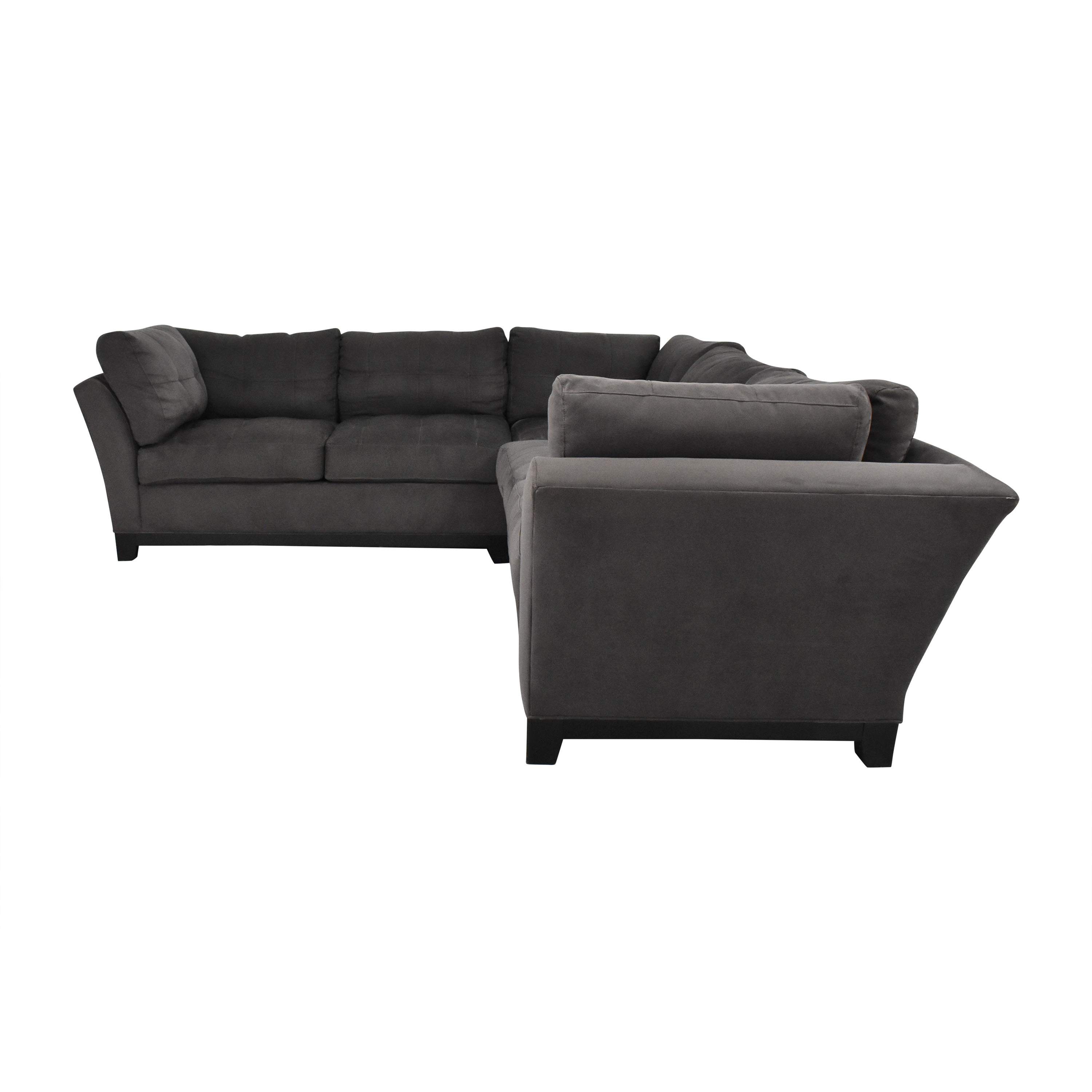 Cindy Crawford Home Cindy Crawford Home Metropolis Three Piece Sectional Sofa second hand
