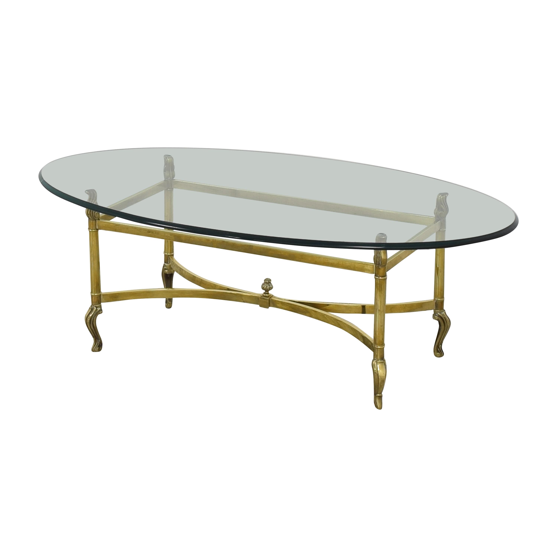 Ethan Allen Ethan Allen Oval Coffee Table Tables