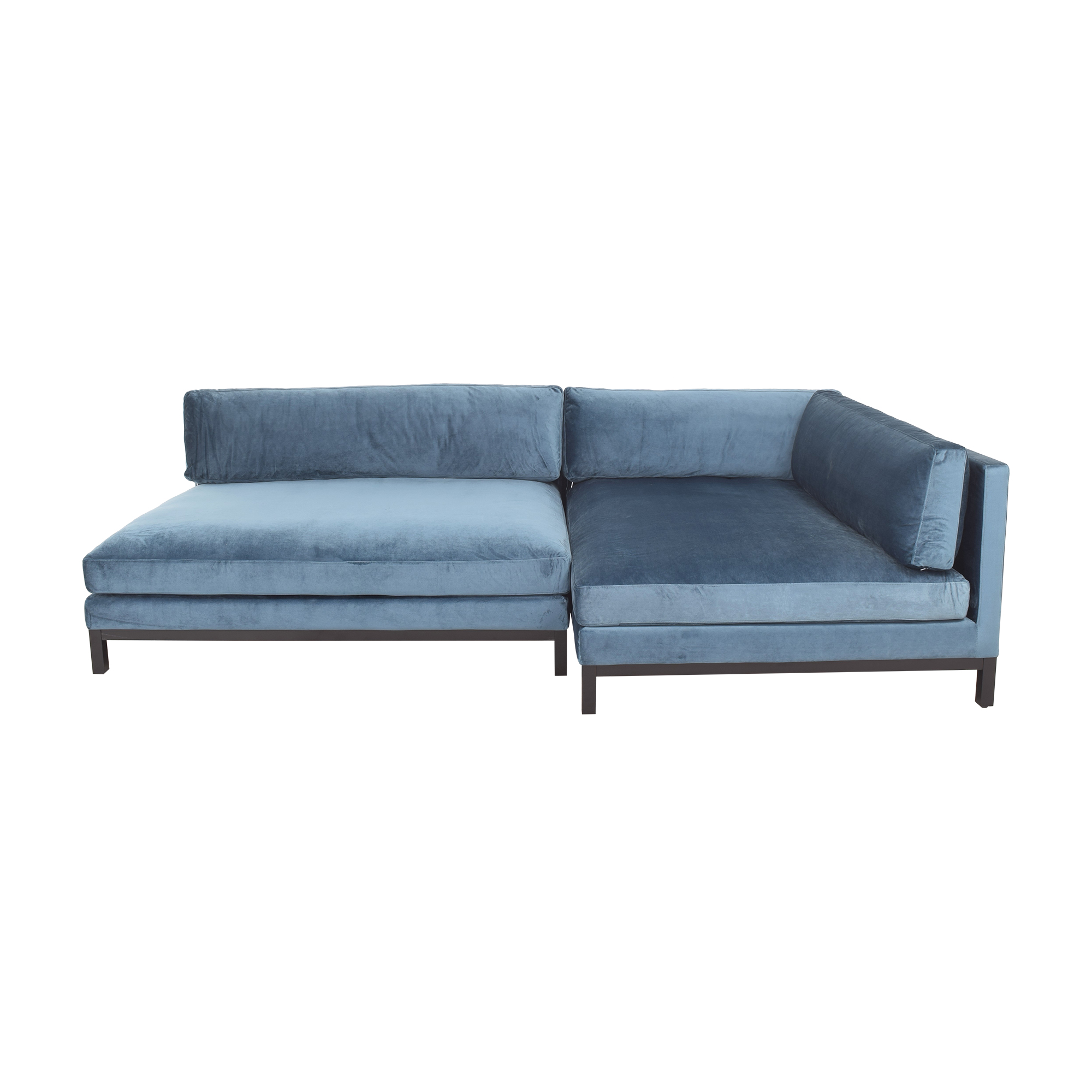 Interior Define Interior Define Jasper Chaise Sectional Sofa nj