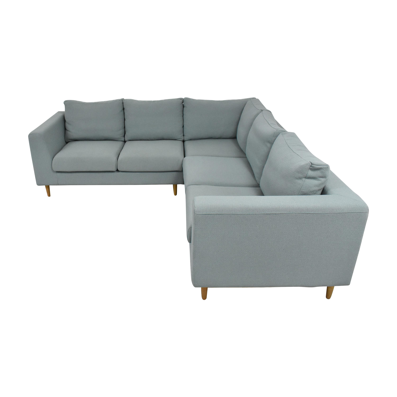 Interior Define Interior Define Asher Corner Sectional Sofa coupon