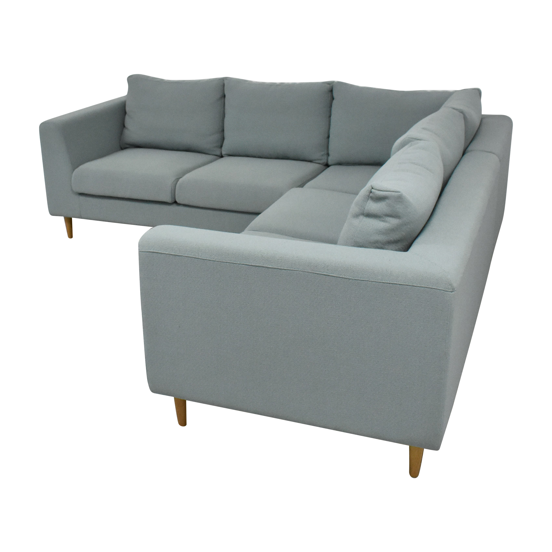 Interior Define Interior Define Asher Corner Sectional Sofa Sofas