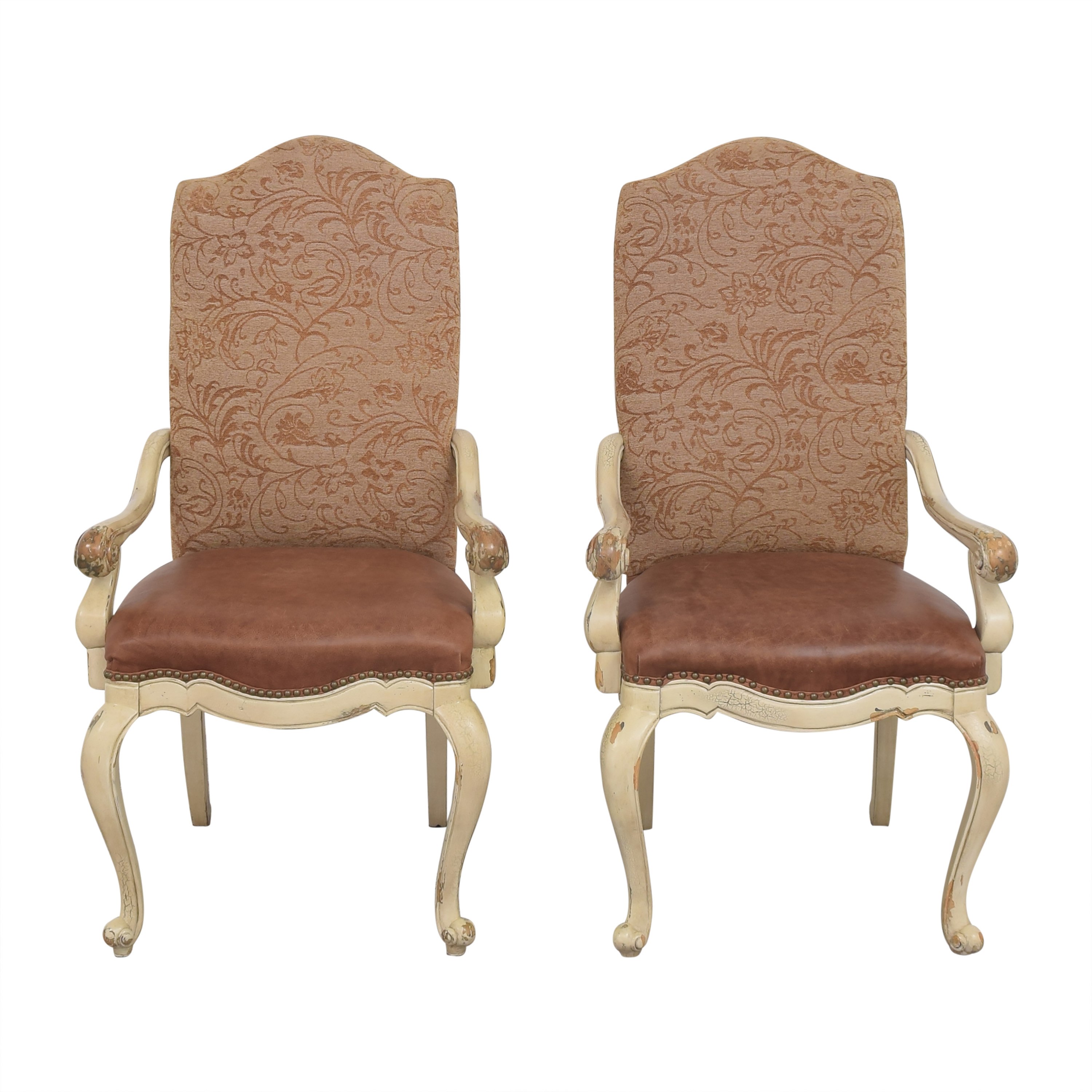 shop Hooker Distressed Style Armchairs Hooker Furniture Chairs