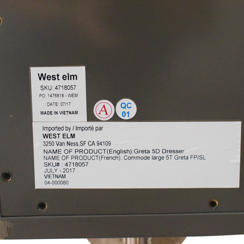 West Elm West Elm Greta 5-Drawer Dresser used
