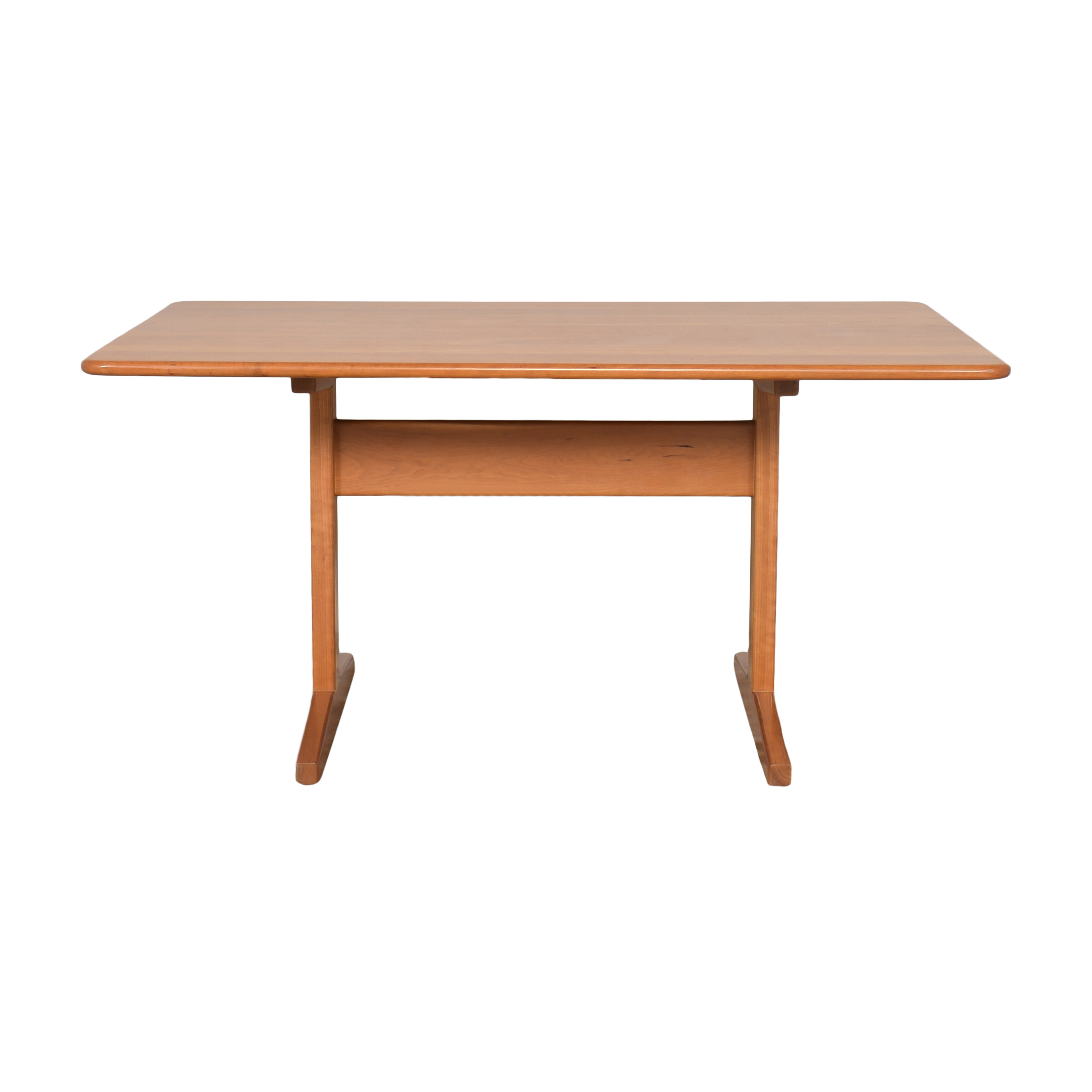 Pompanoosuc Mills Trestle Dining Table / Dinner Tables
