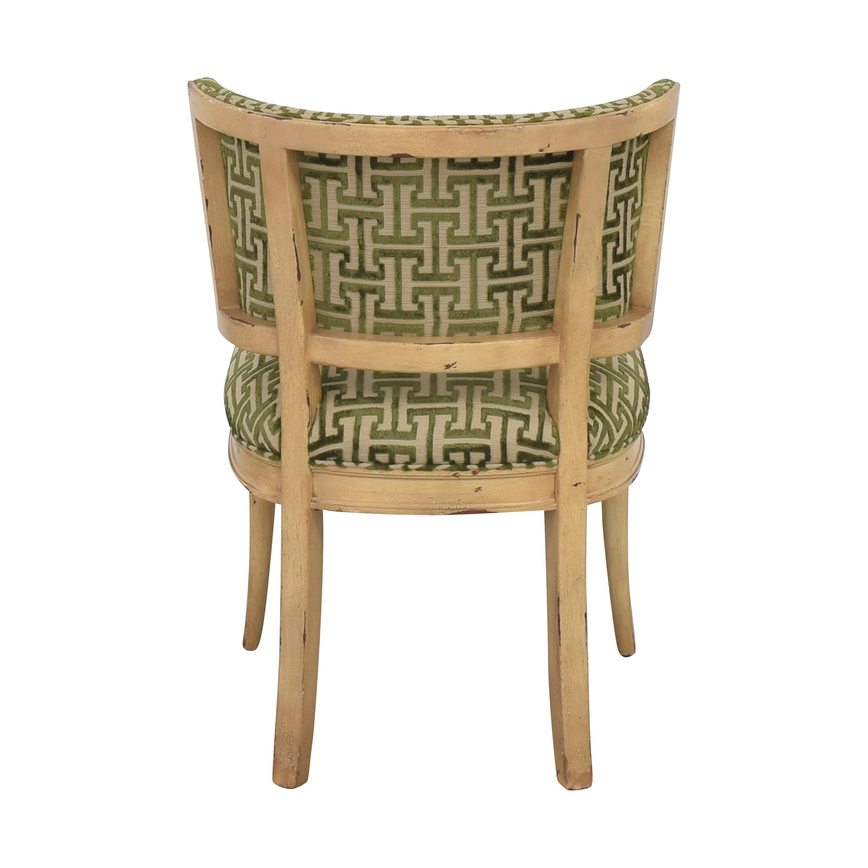 shop Hickory Atelier Gabrielle Side Chair Hickory Chair Accent Chairs