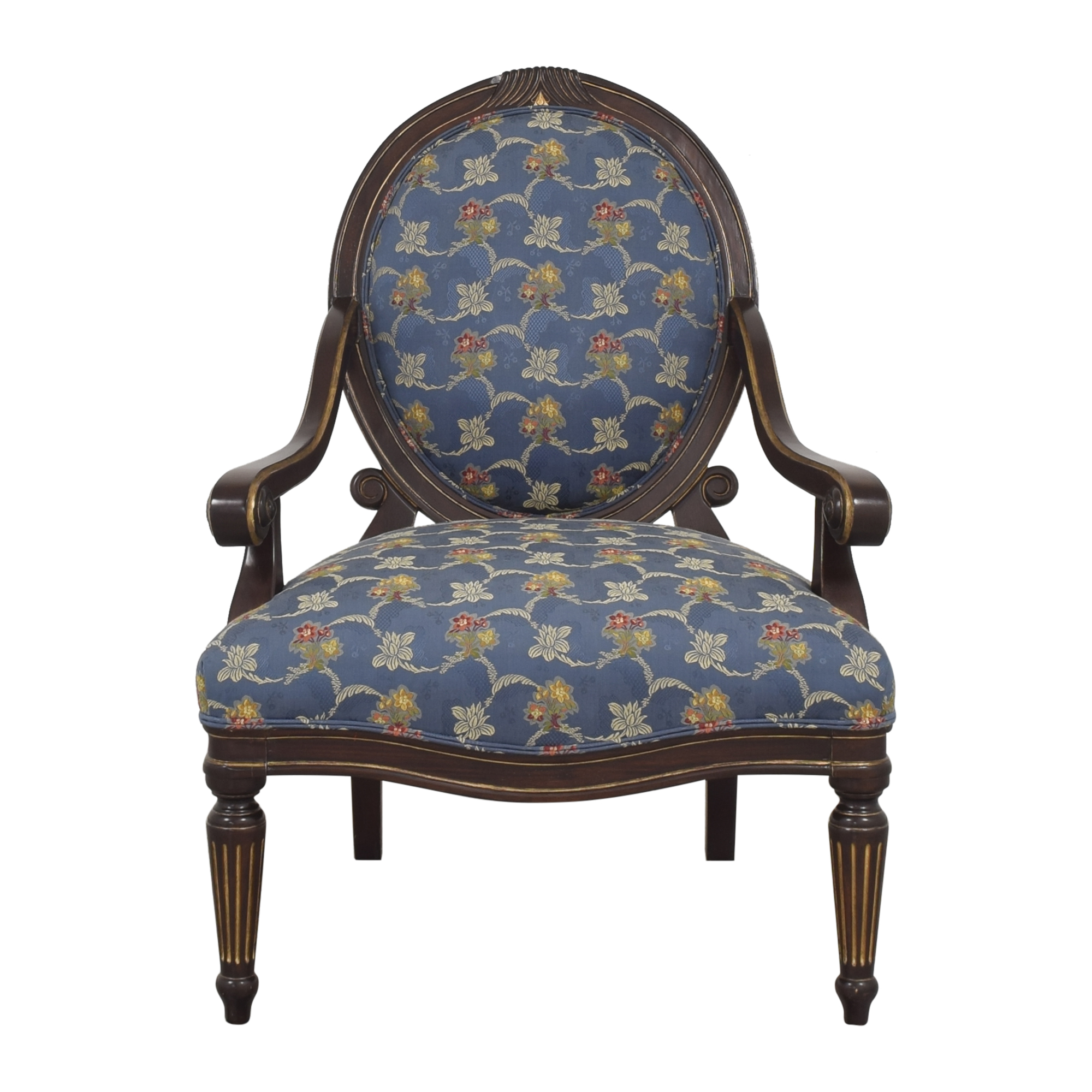 Bernhardt Louis XVI Accent Chair Bernhardt
