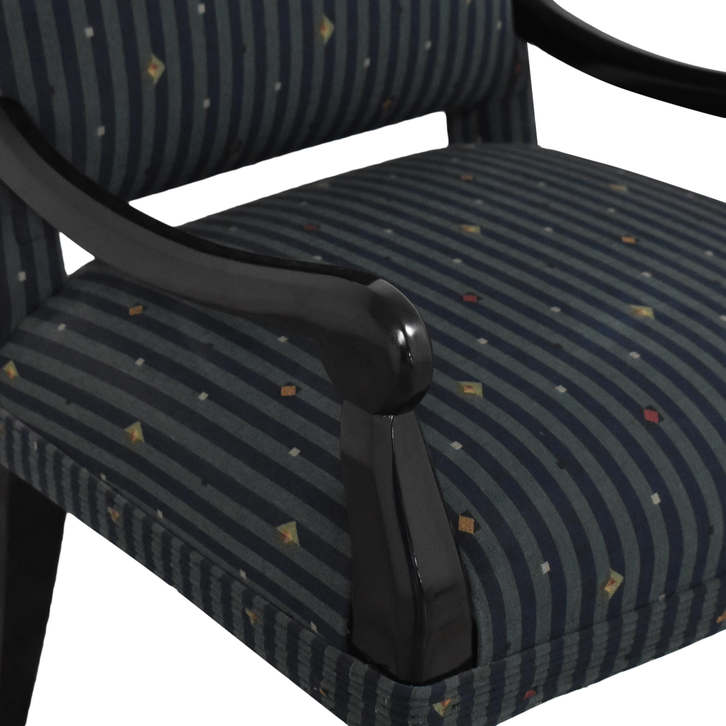 Custom Upholstered Dining Arm Chair sale
