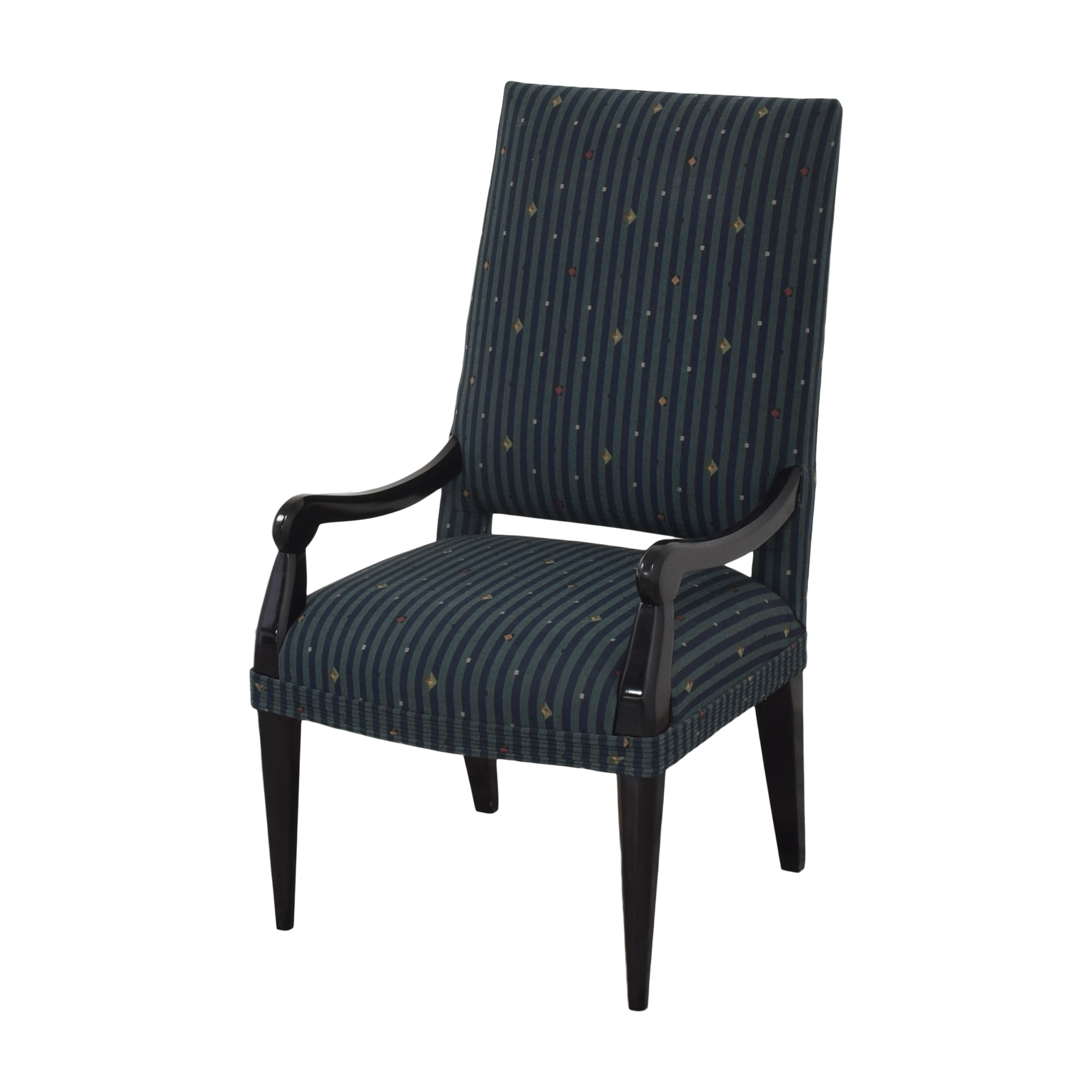 Custom Upholstered Dining Arm Chair nyc
