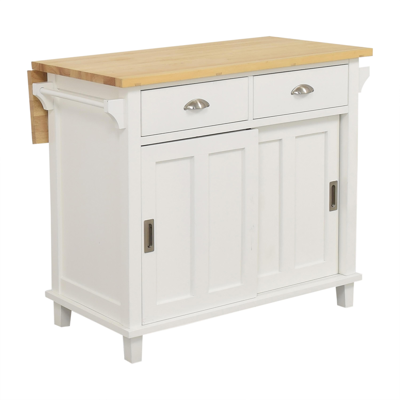 Crate & Barrel Crate & Barrel Belmont Kitchen Island on sale
