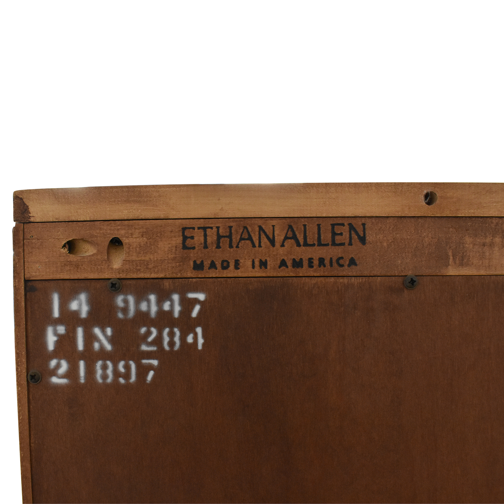 Ethan Allen Crawford Tall Bookcase sale