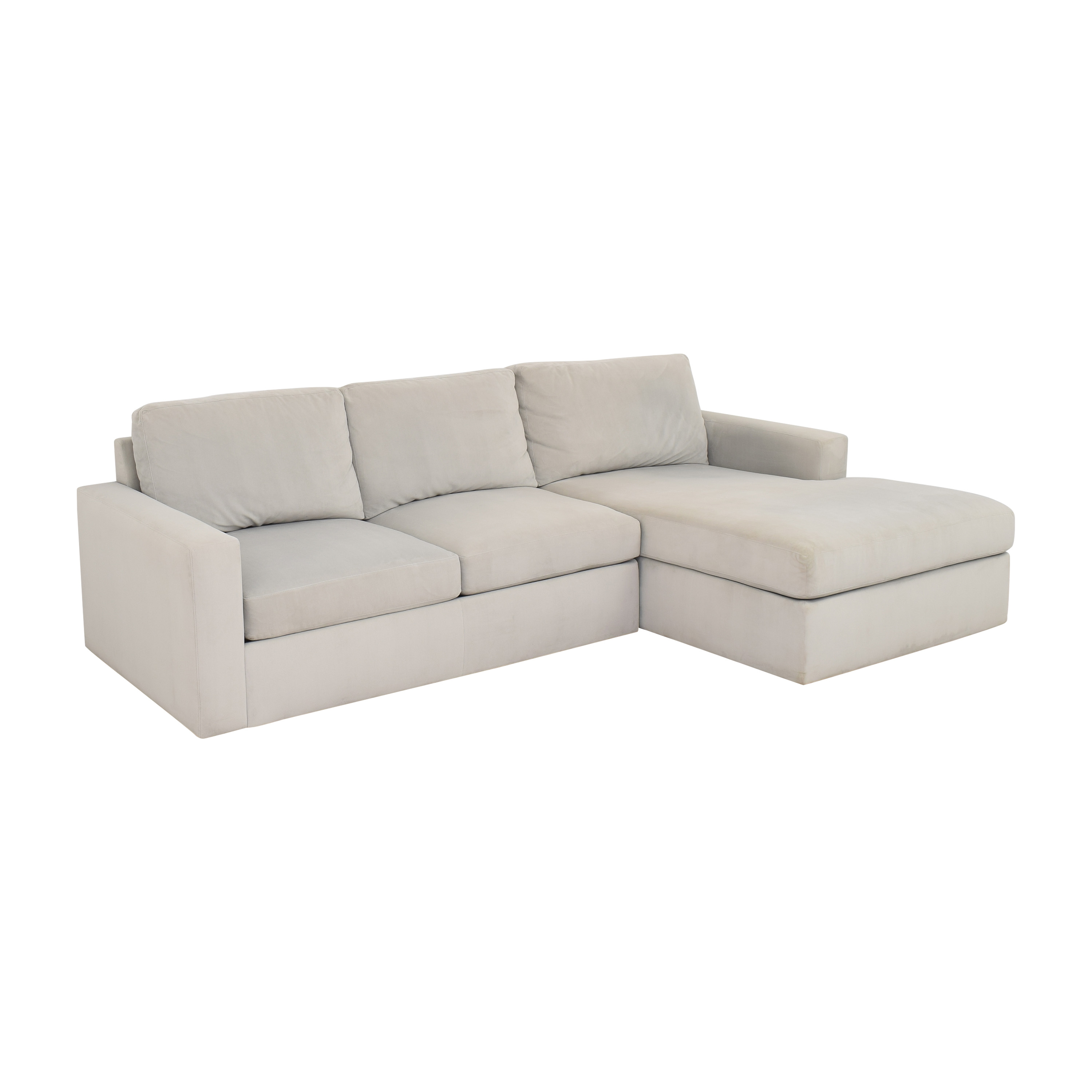 Room & Board Room & Board Modern Sectional Sofa with Chaise on sale