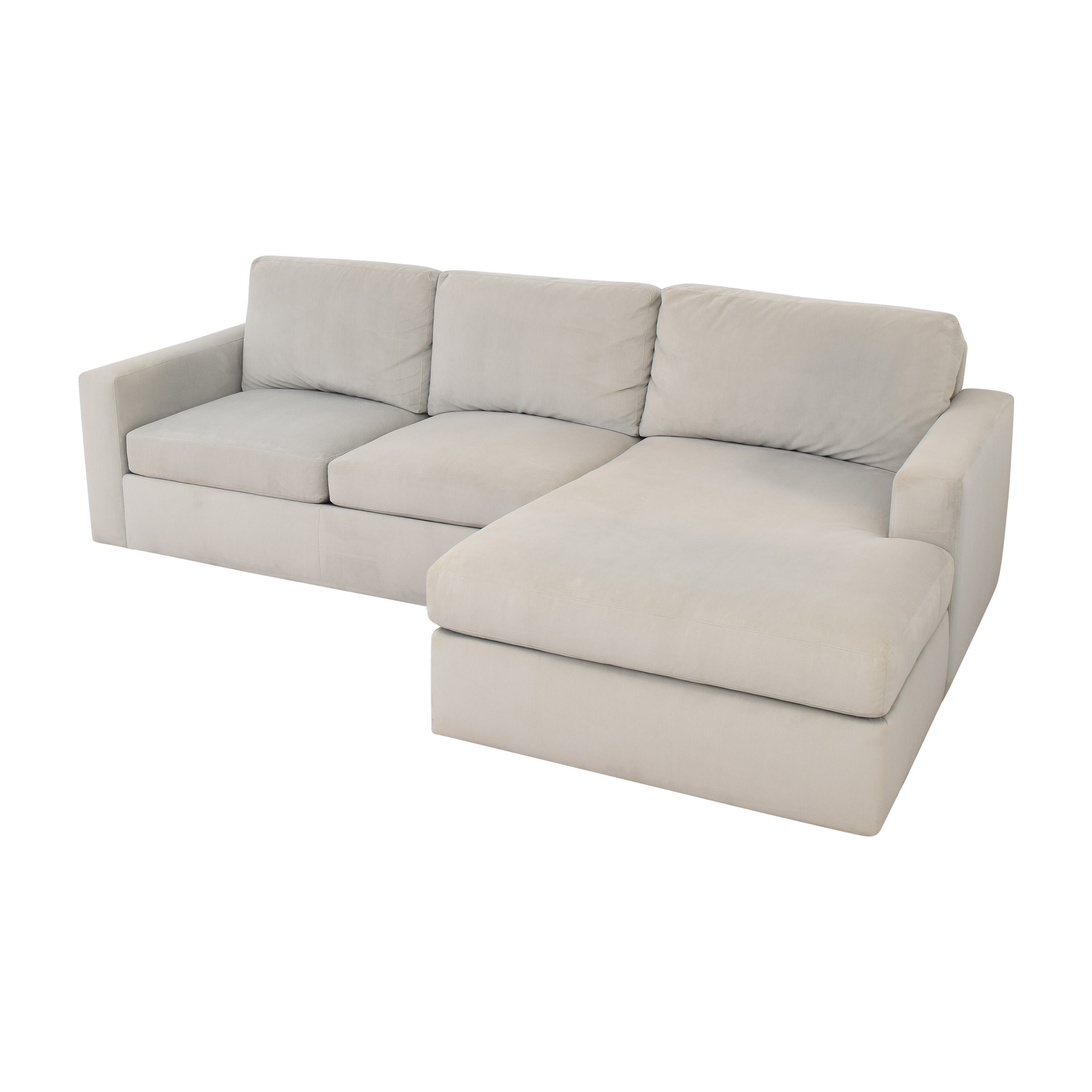 Room & Board Modern Sectional Sofa with Chaise sale