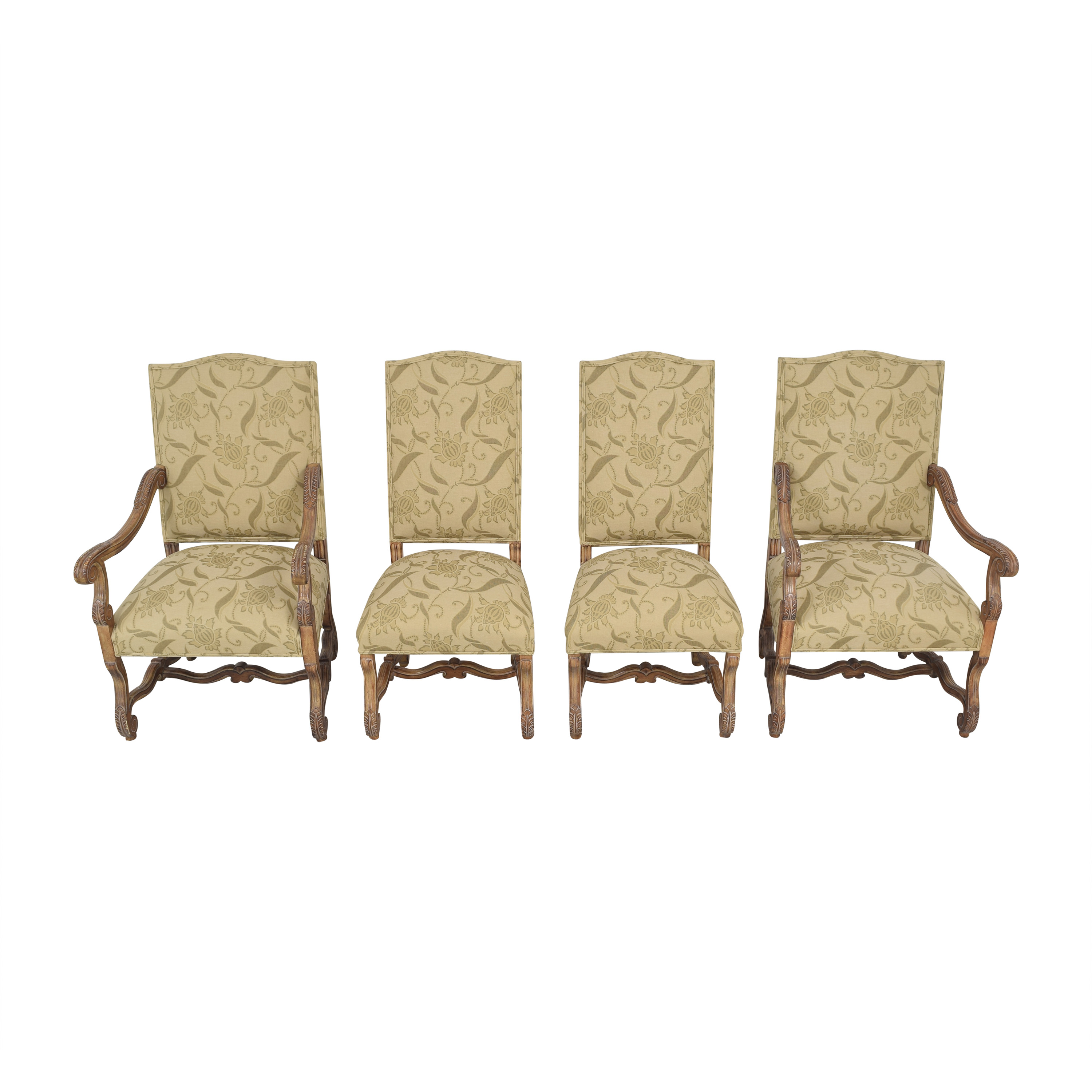 Kreiss Kreiss Rousseau Dining Chairs second hand