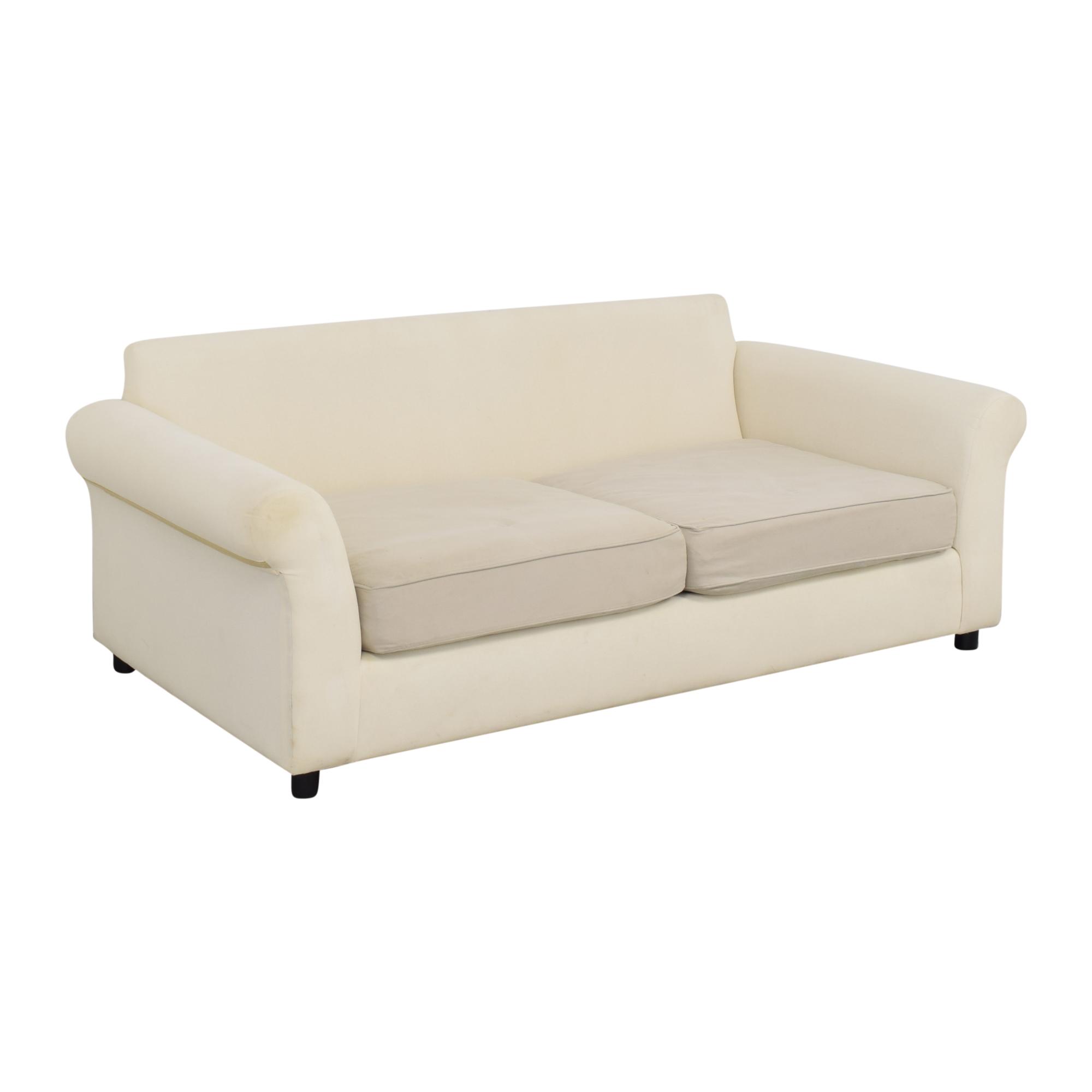 Pottery Barn Pottery Barn Comfort Collection Two Cushion Sofa on sale