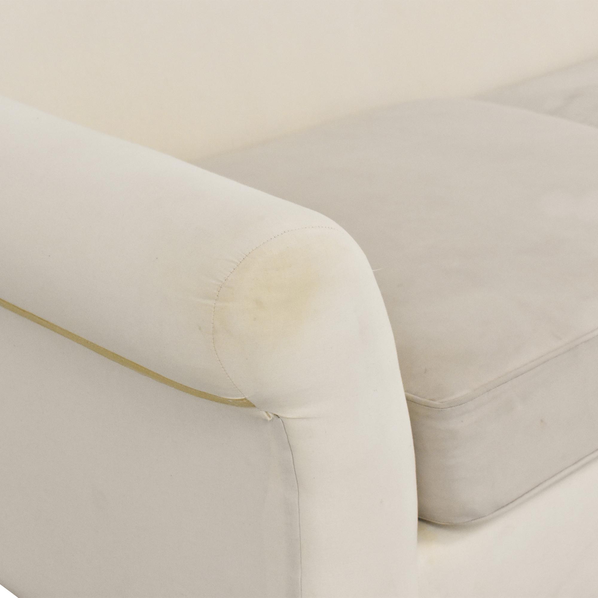 Pottery Barn Comfort Collection Two Cushion Sofa / Sofas