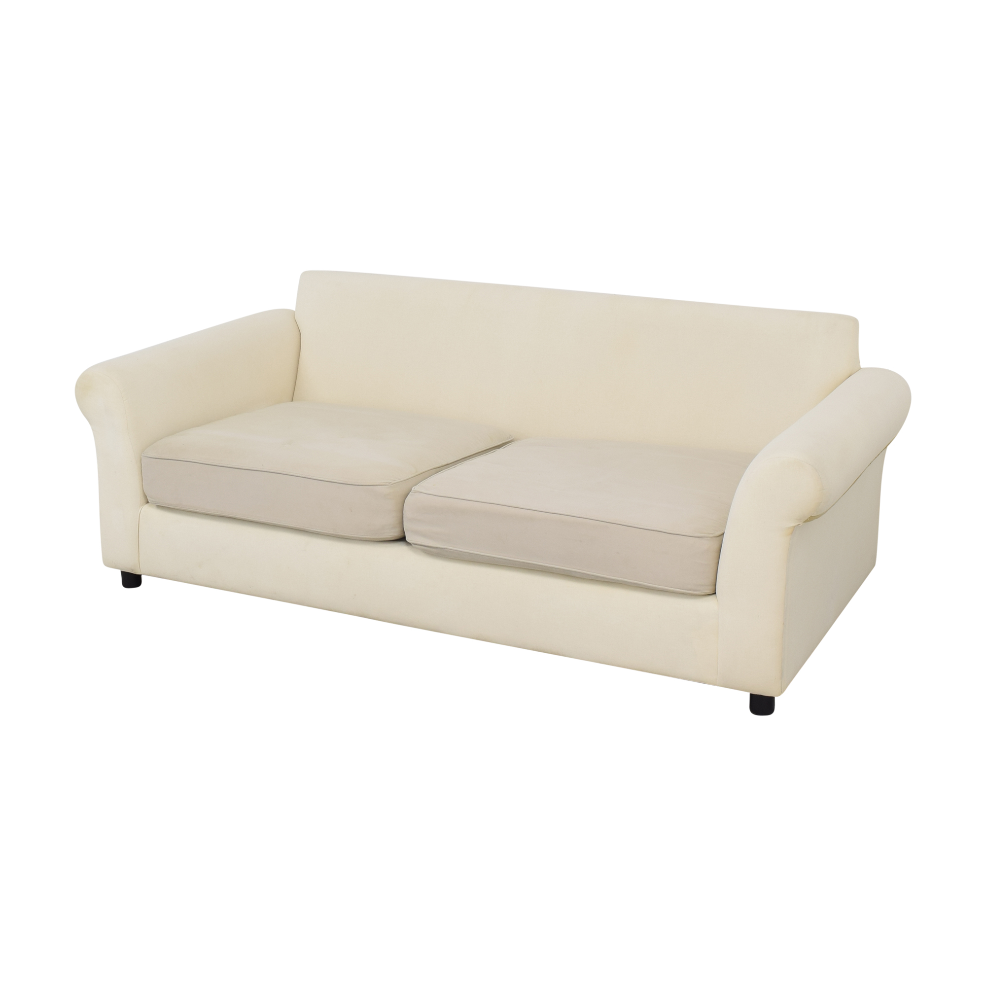 shop Pottery Barn Pottery Barn Comfort Collection Two Cushion Sofa online