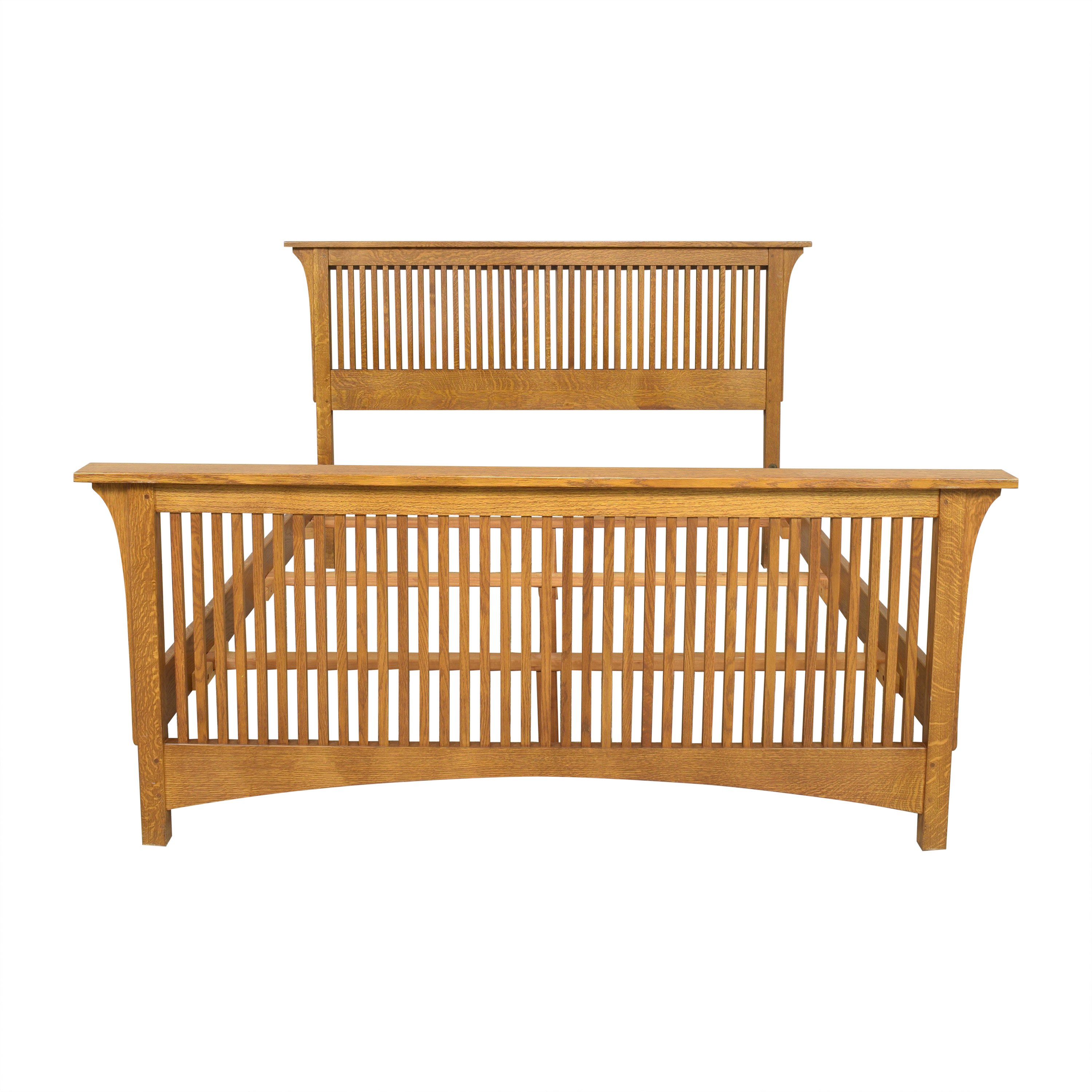 Stickley Furniture Stickley Furniture Mission Collection Queen Spindle Bed nyc