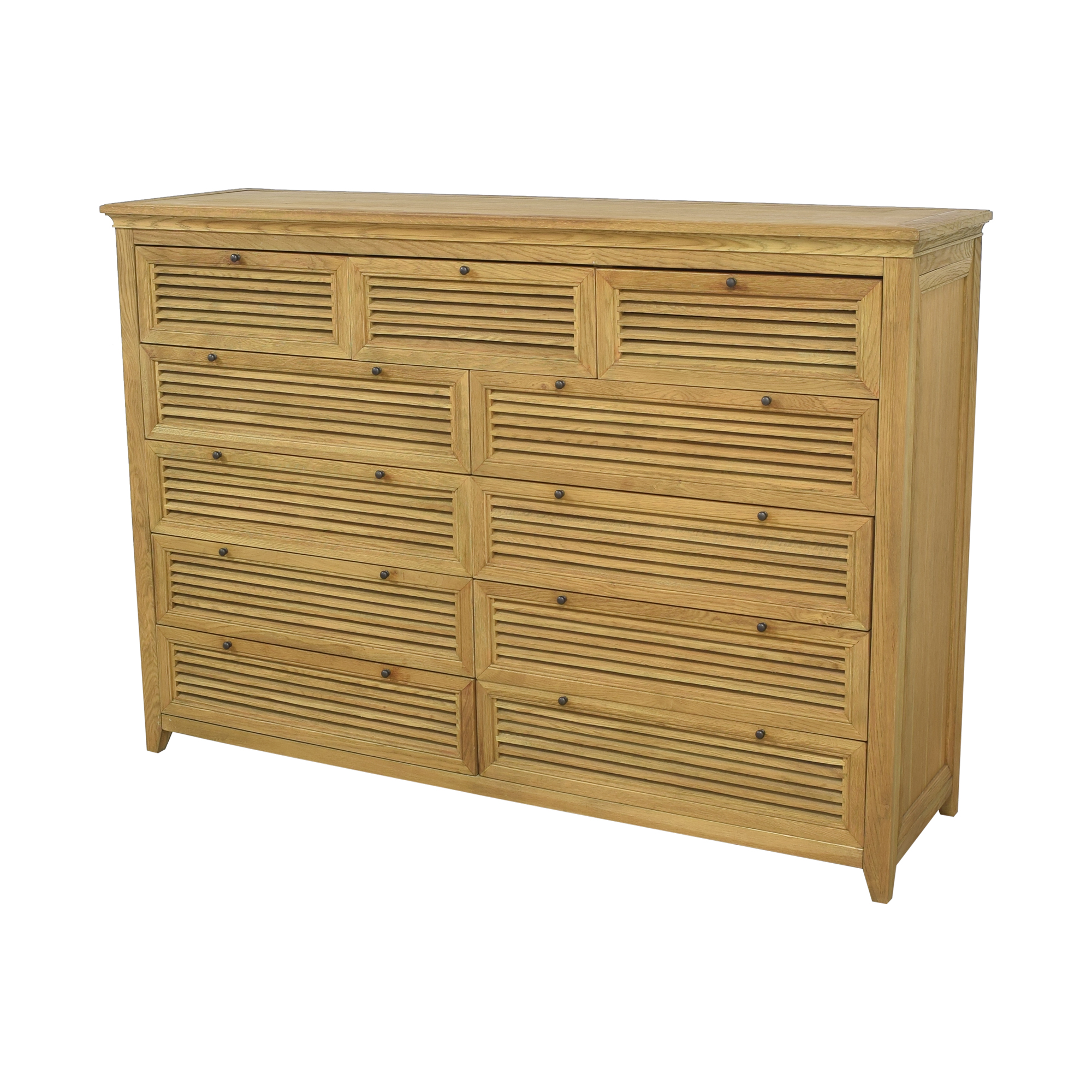 Restoration Hardware Restoration Hardware Shutter Eleven Drawer Dresser for sale