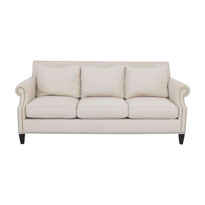 Neiman Marcus Mercer Roll Arm Sofa / Sofas