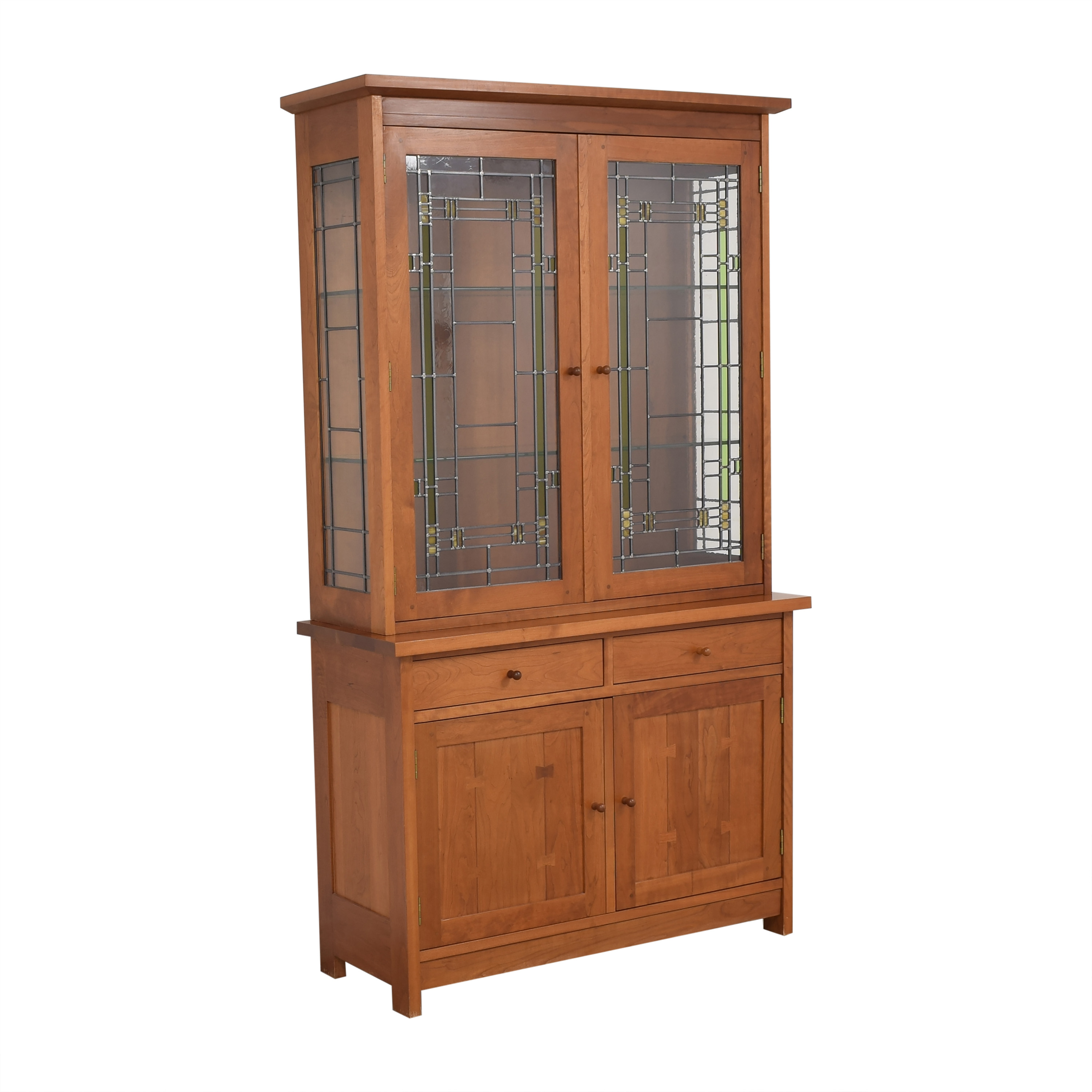 Stickley Furniture Stickley Lighted China Cabinet