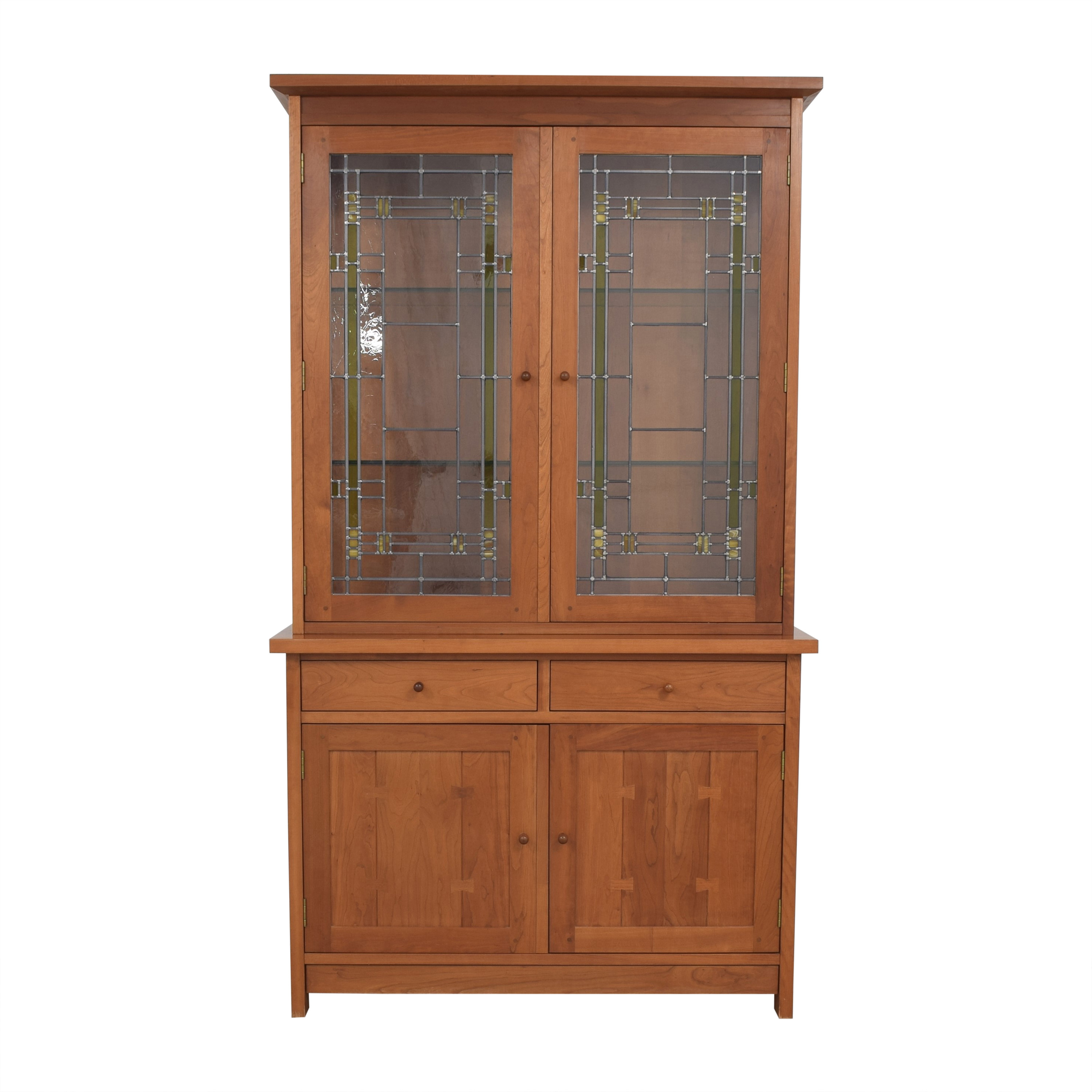buy Stickley Furniture Lighted China Cabinet Stickley Furniture