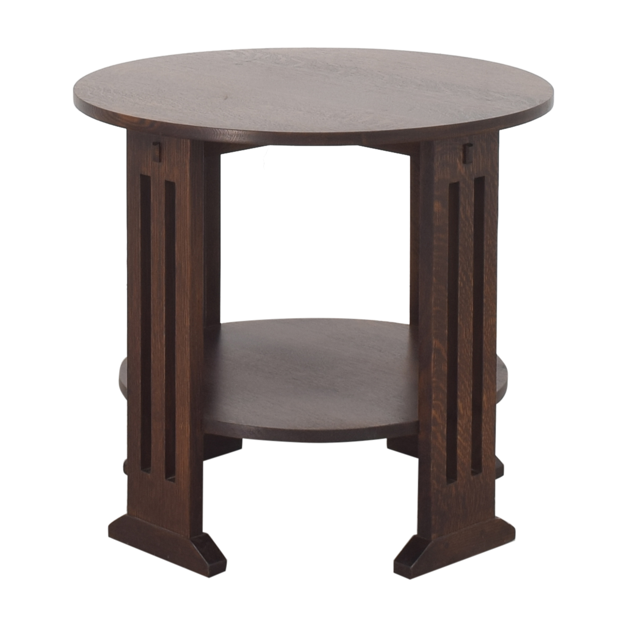 Stickley Furniture Stickley Furniture Round End Table second hand