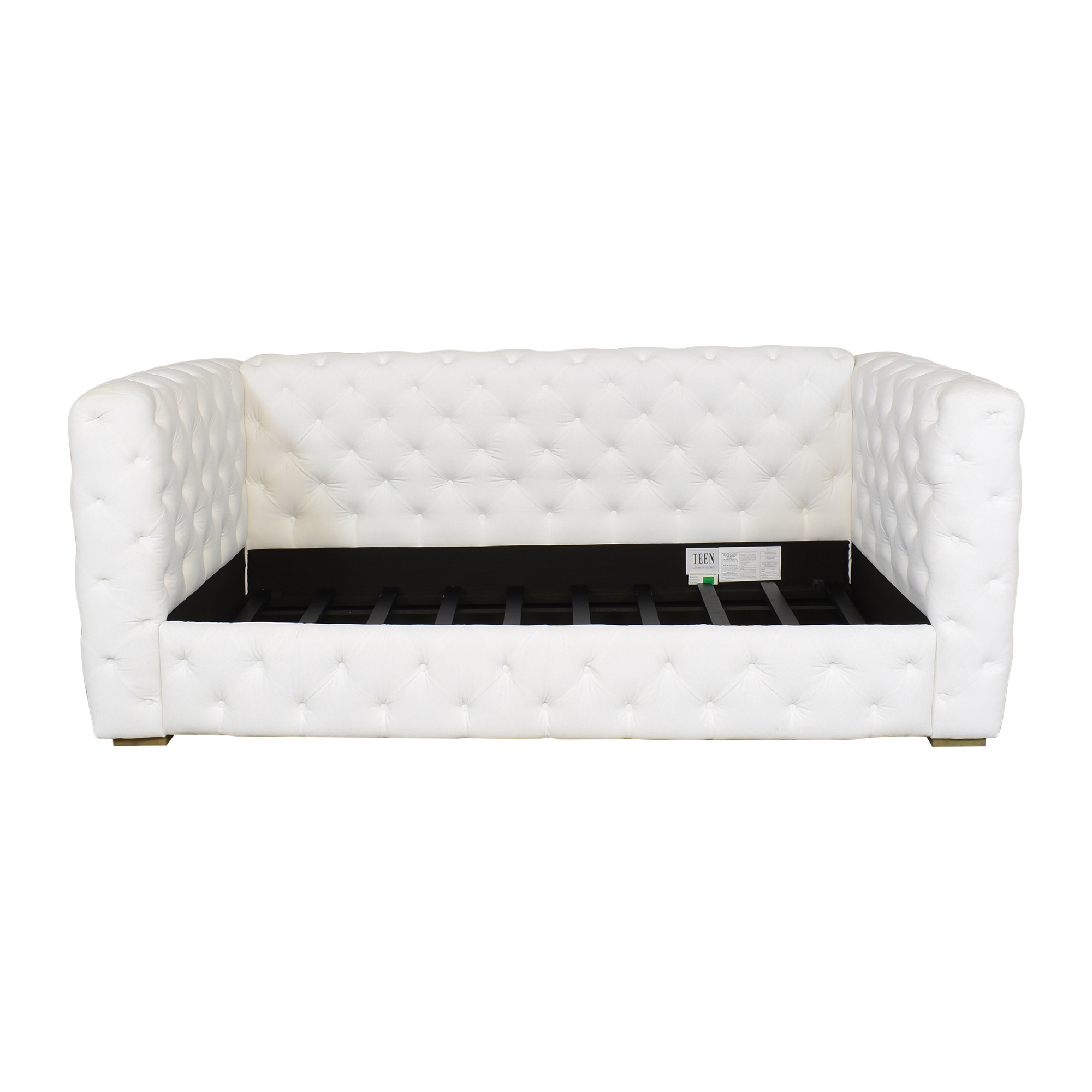 Restoration Hardware Restoration Hardware Tribeca Tufted Twin Daybed ct