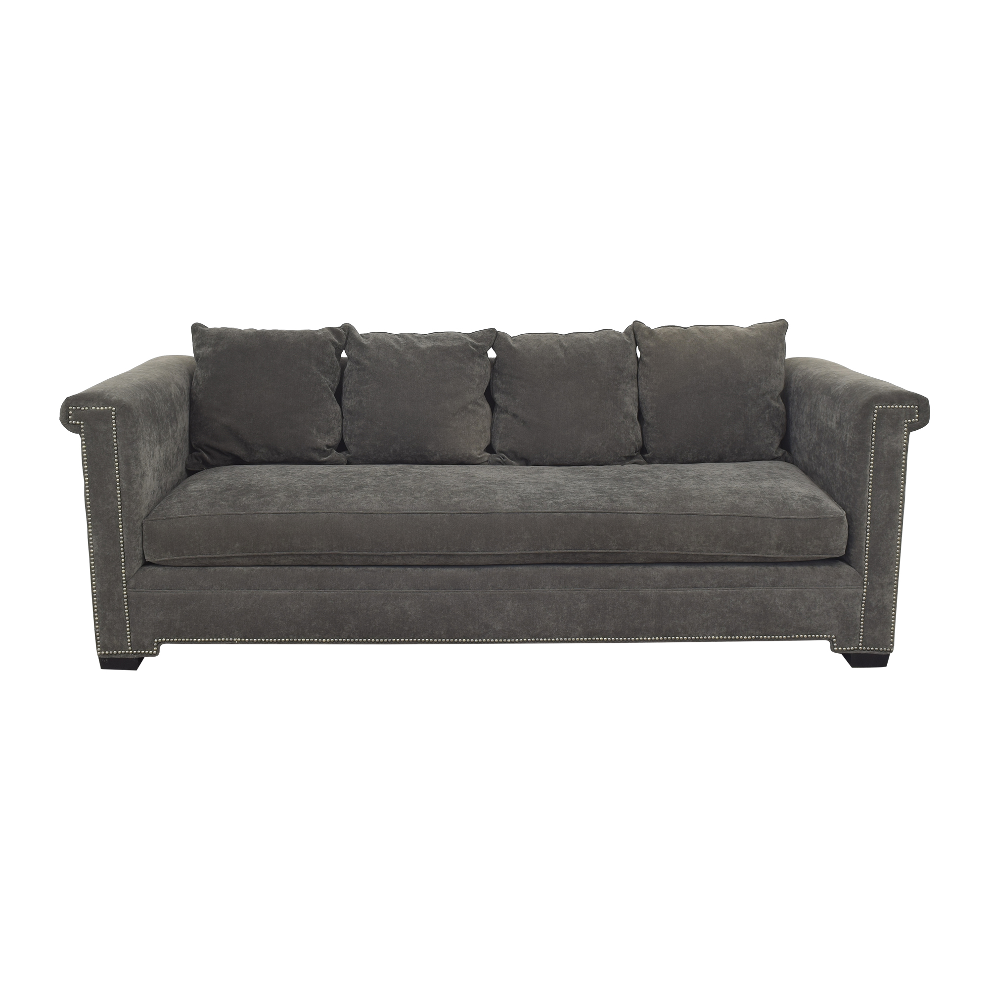Gabby Home Bench Cushion Sofa sale