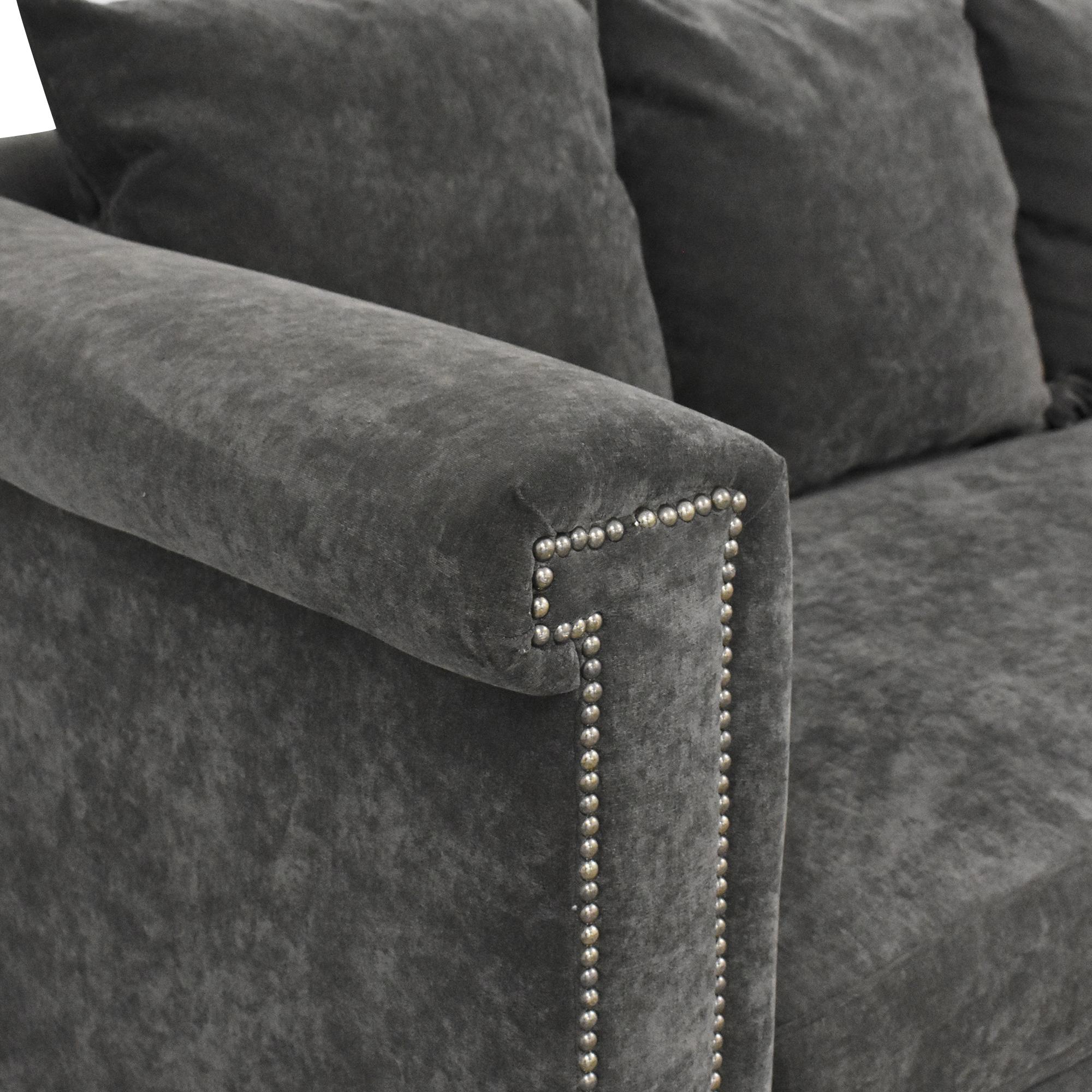 Gabby Home Gabby Home Bench Cushion Sofa dimensions