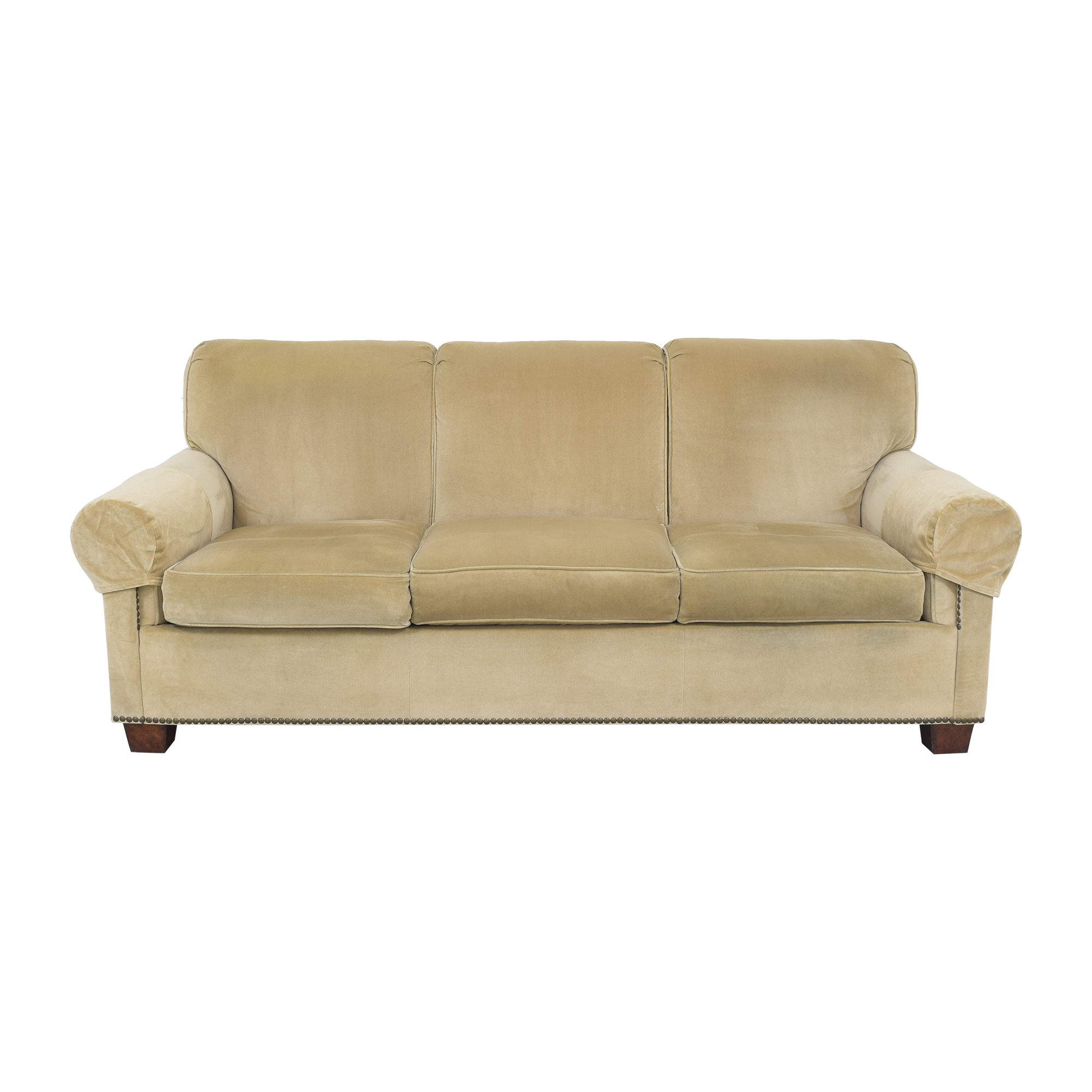 Hickory Chair Hickory Chair Sunbrella Three Cushion Sofa ma